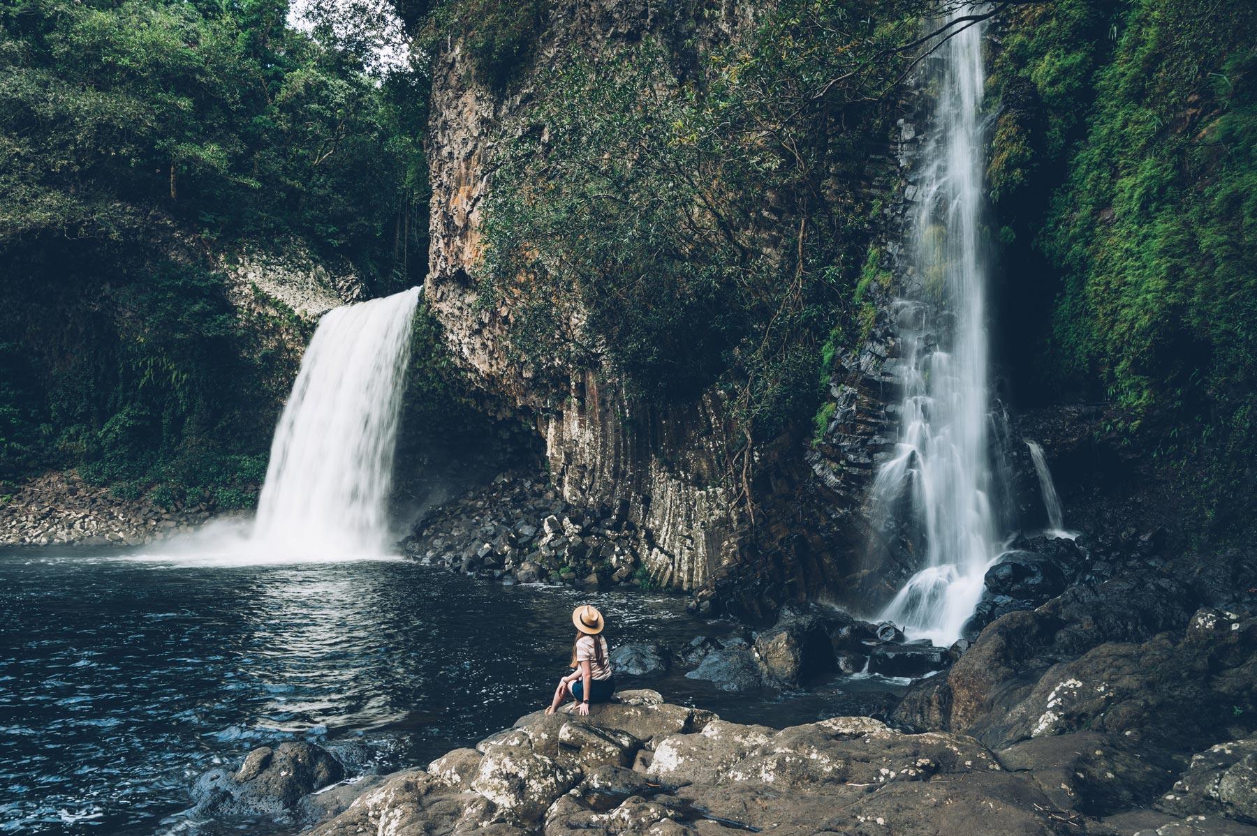Cascade bassin La Paix, Réunion