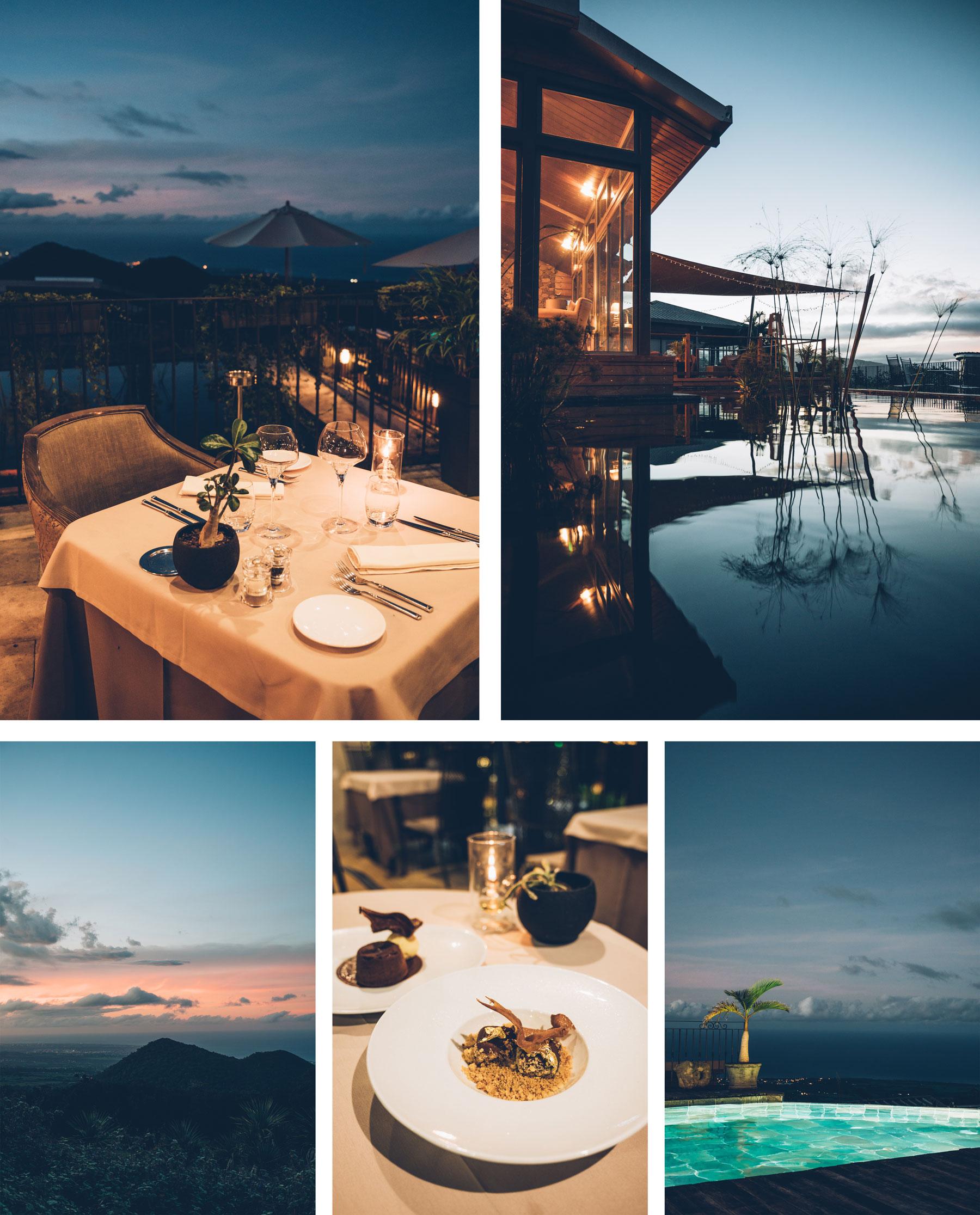 Diner au Diana Dea Lodge