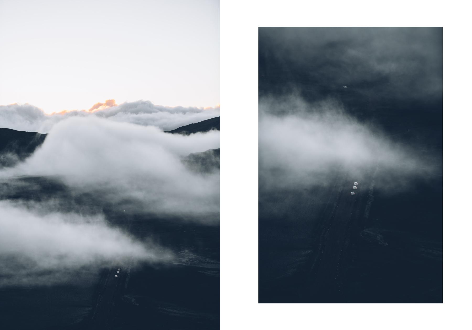 La route pour le Volcan, La Réunion