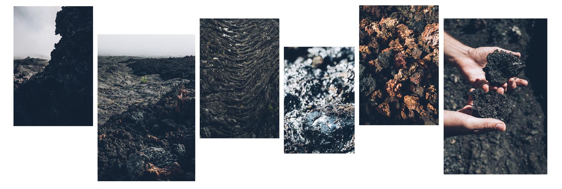 Laves, Volcan, La Réunion