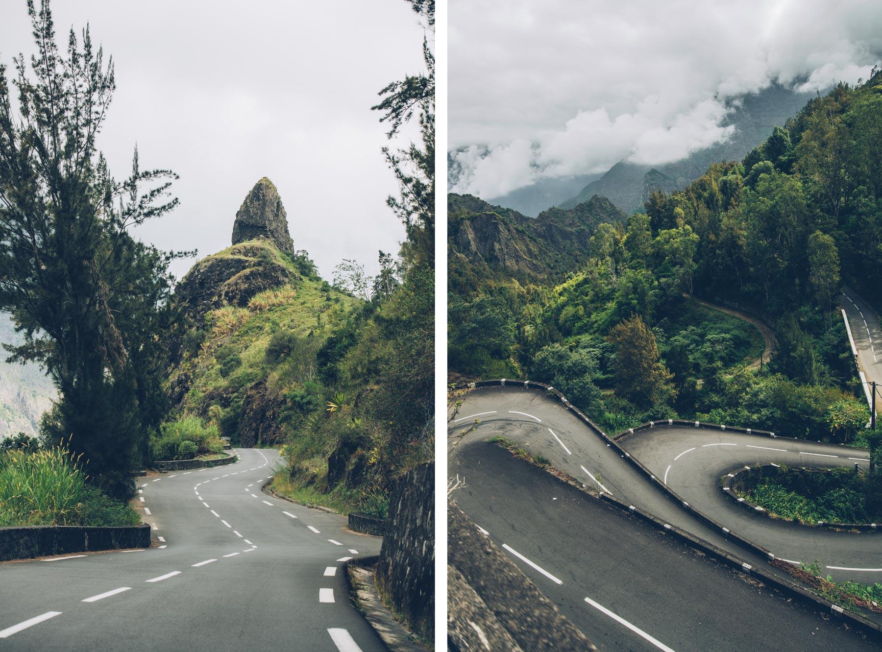 Route des 400 virages, Cilaos, La Réunion