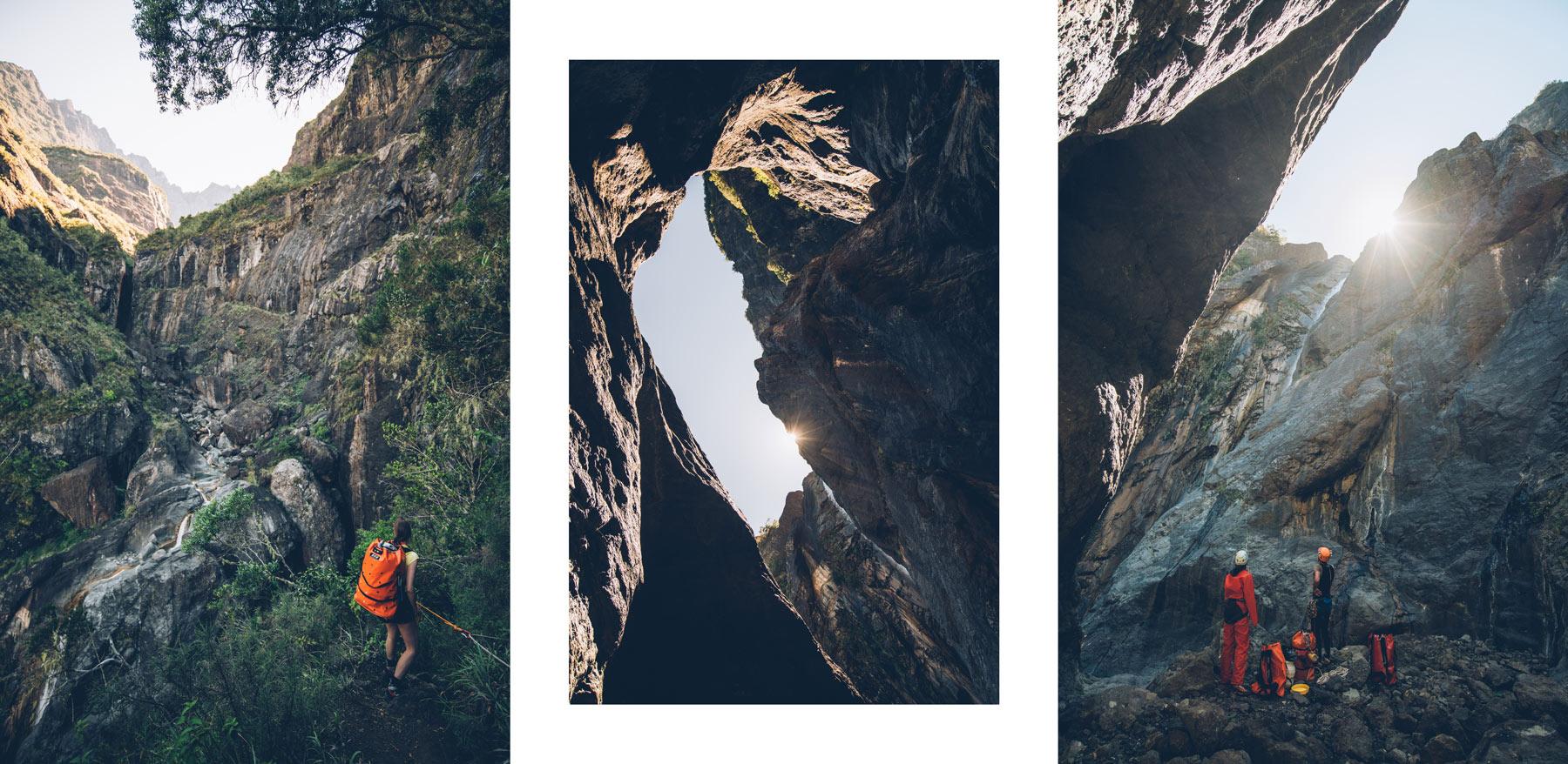 Canyoning Réunion, Cilaos