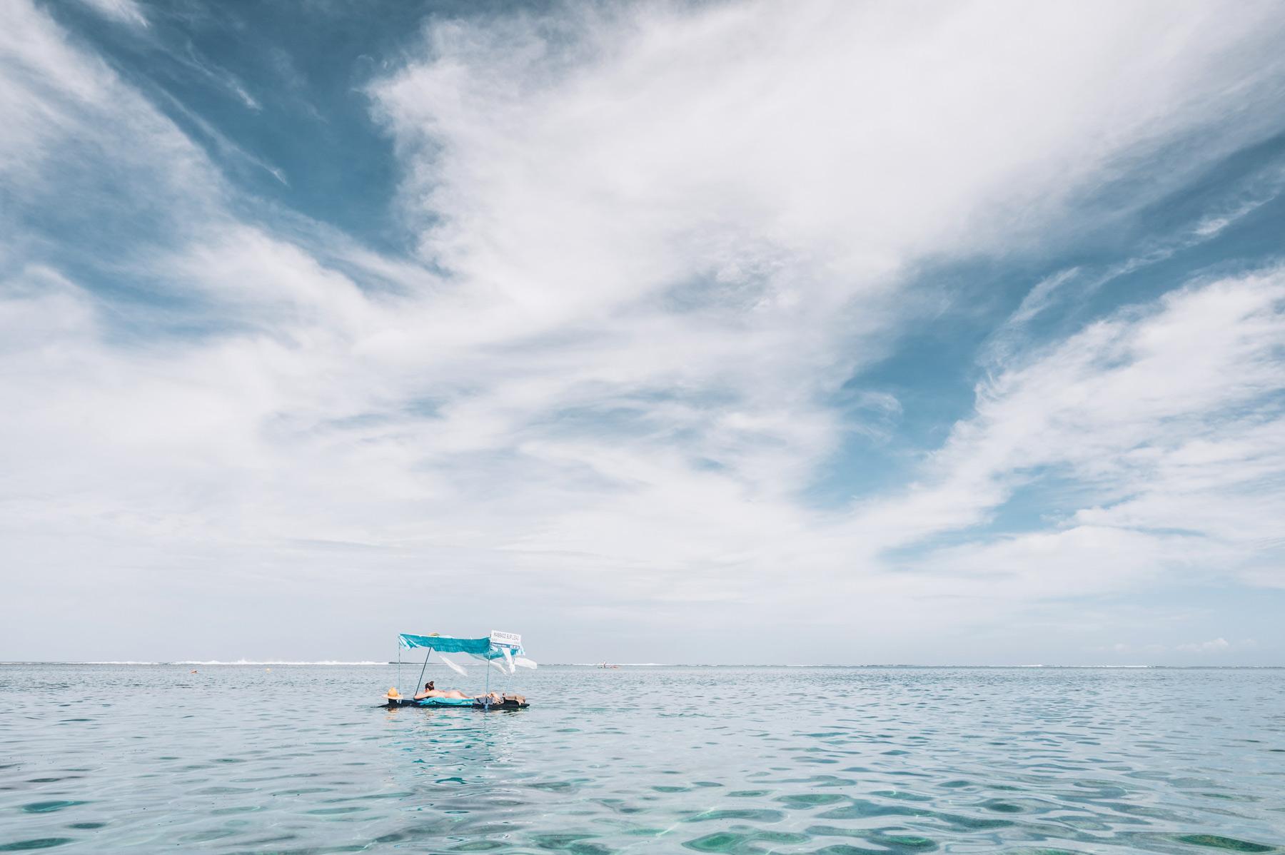 Massage sur l'eau à la Réunion - St Gilles