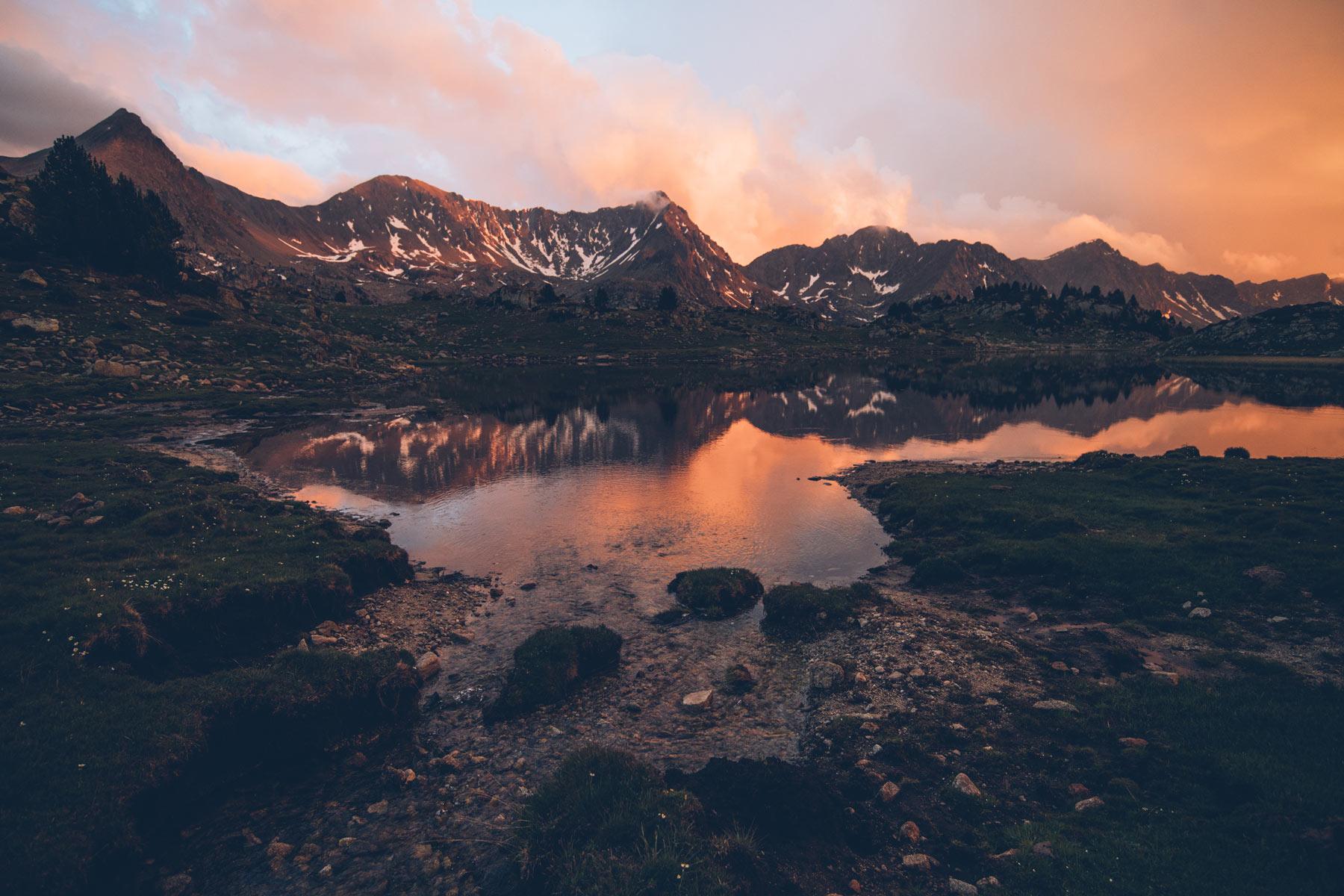 Lac sur la Randonée du Madriu, Andorre