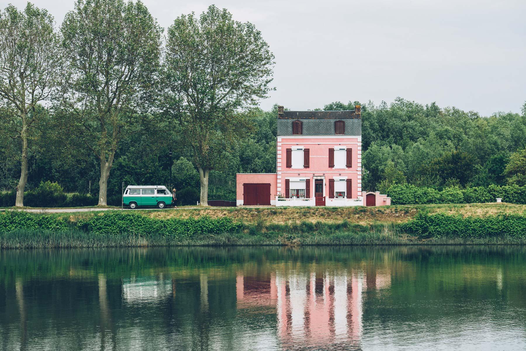 Maison Rose, St Valery, Baie de Somme