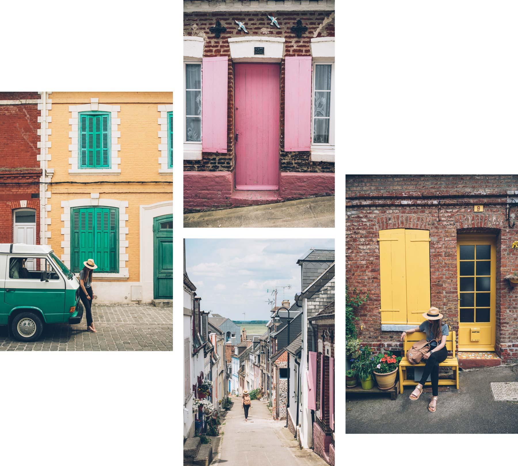 Rues colorées de St Valery sur Somme