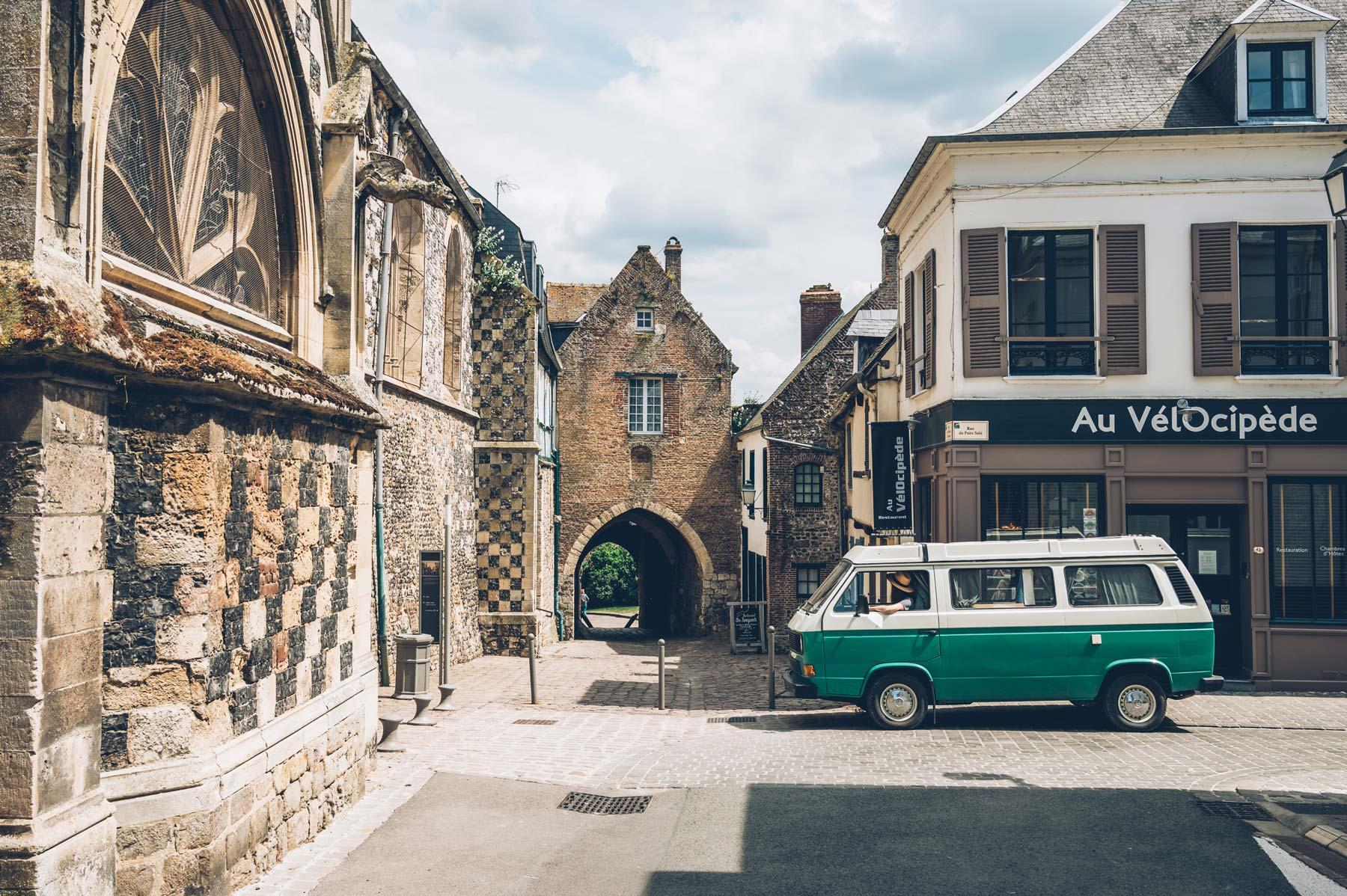 St valery sur Somme, vieille ville