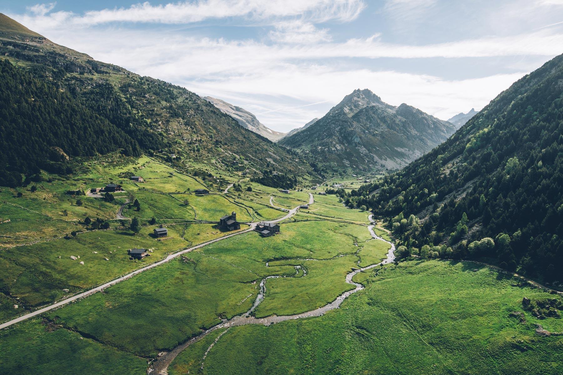 la vallée d'Incles, Andorre