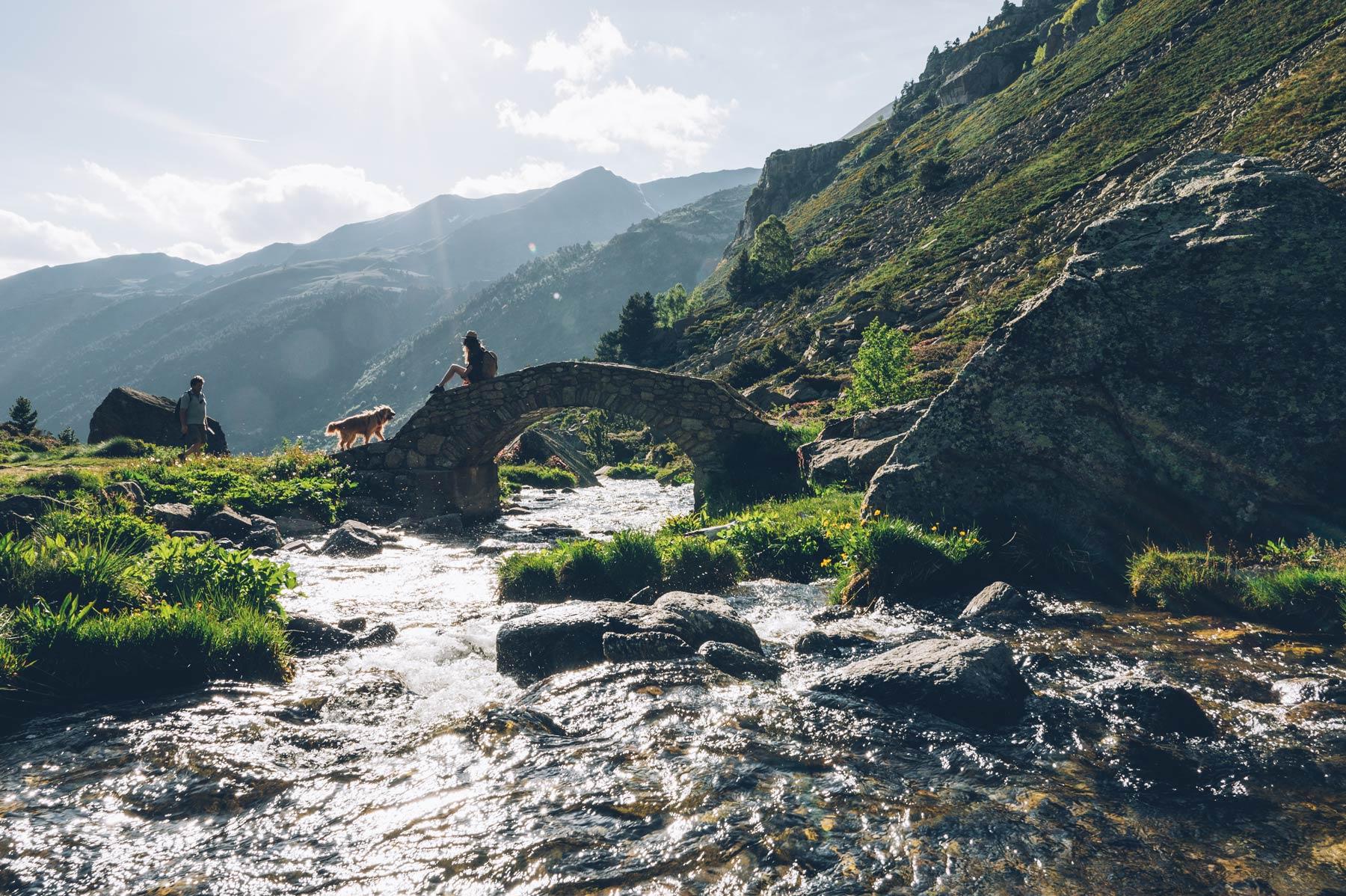 Randonnée pour les lacs Juclar, Andorre