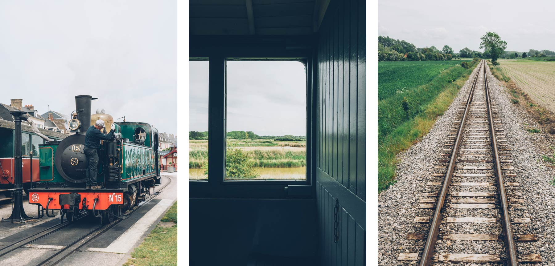 Train, Baie de Somme