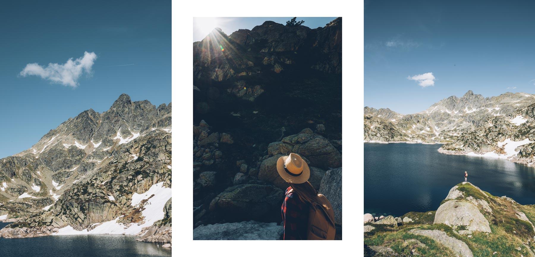 Rando Andorre: les Lacs Juclar depuis le Vall d'Incles