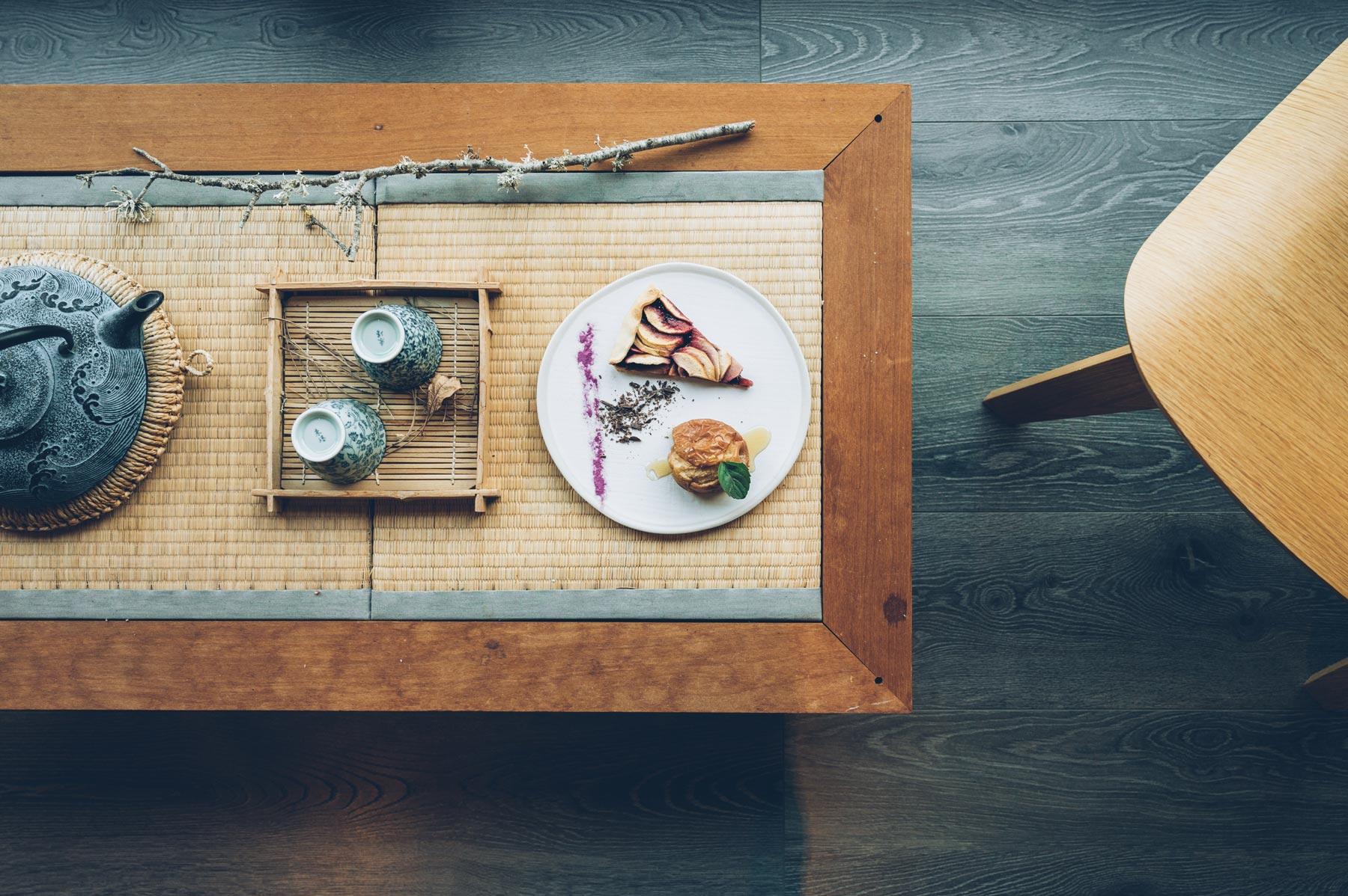 Ecolodge, Le Bruit de l'eau, Restaurant