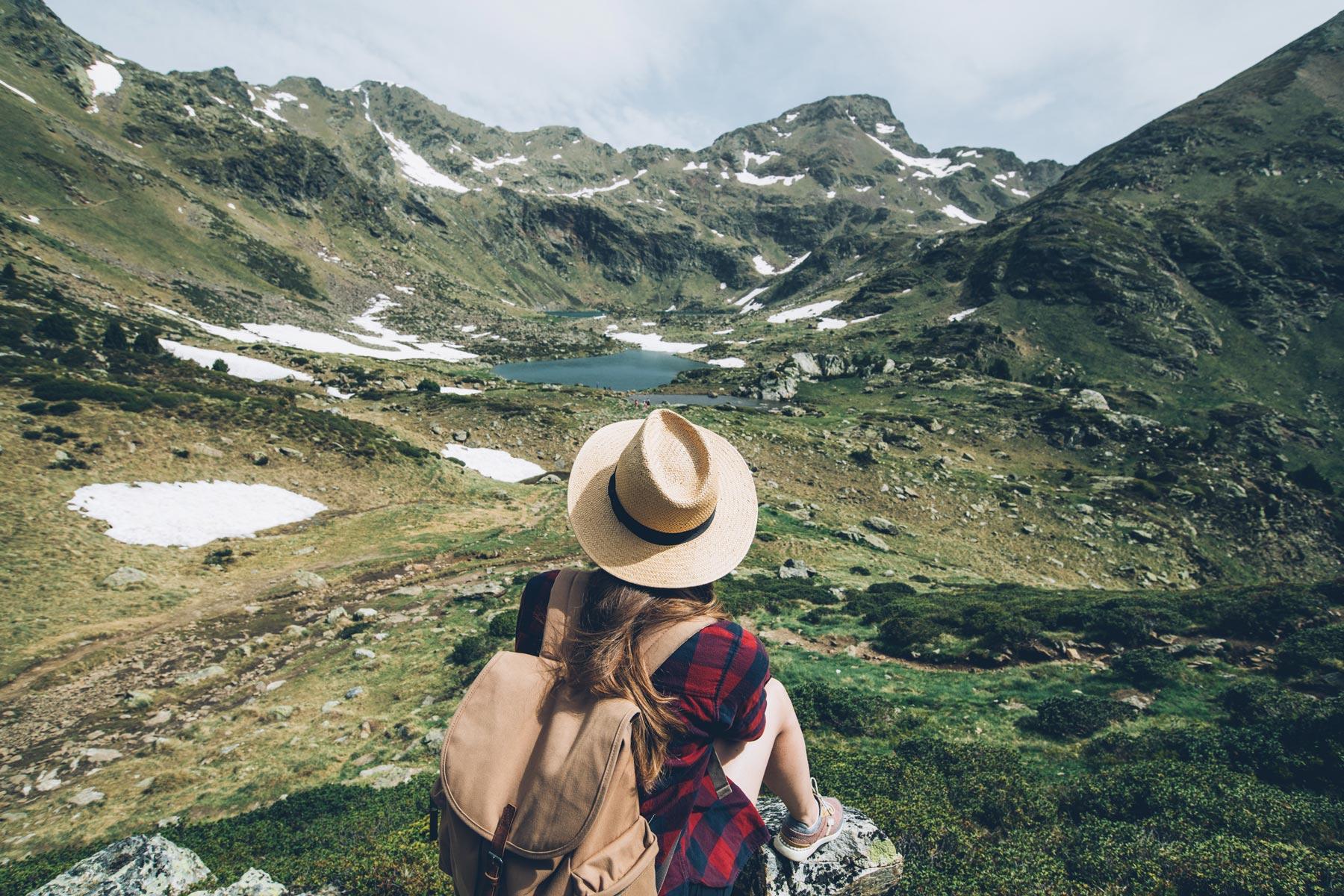Rando Lacs Tristaina, Andorre