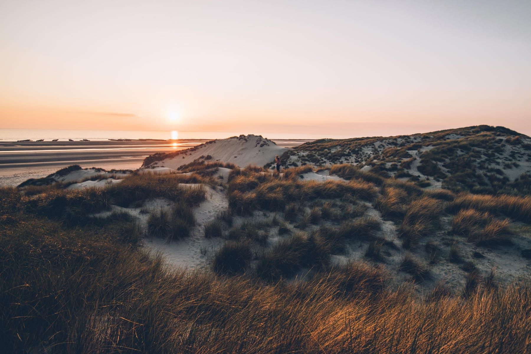 Dunes de sable, Baie de Somme