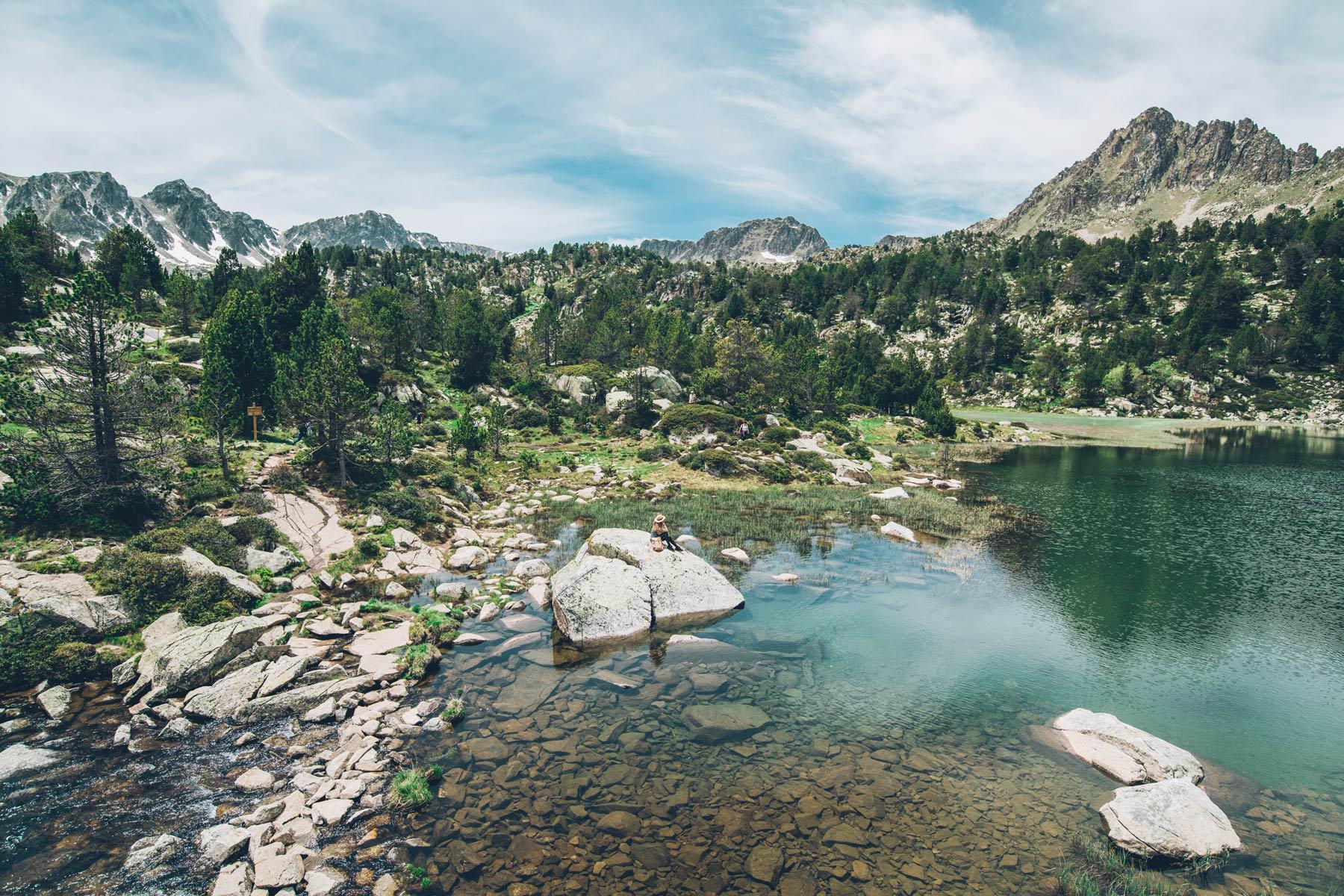 Rando Lac Pessons, Andorre