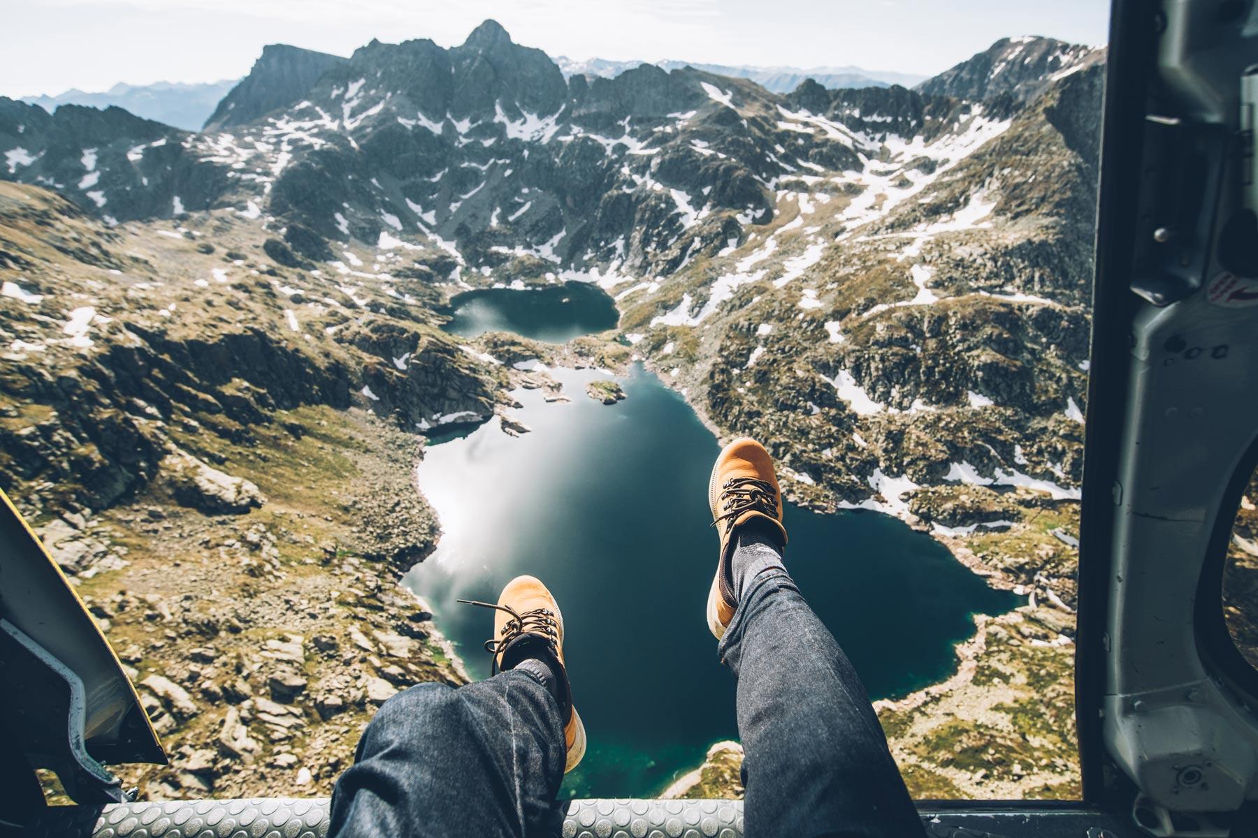 Survoler Andorre en Hélico les portes ouvertes