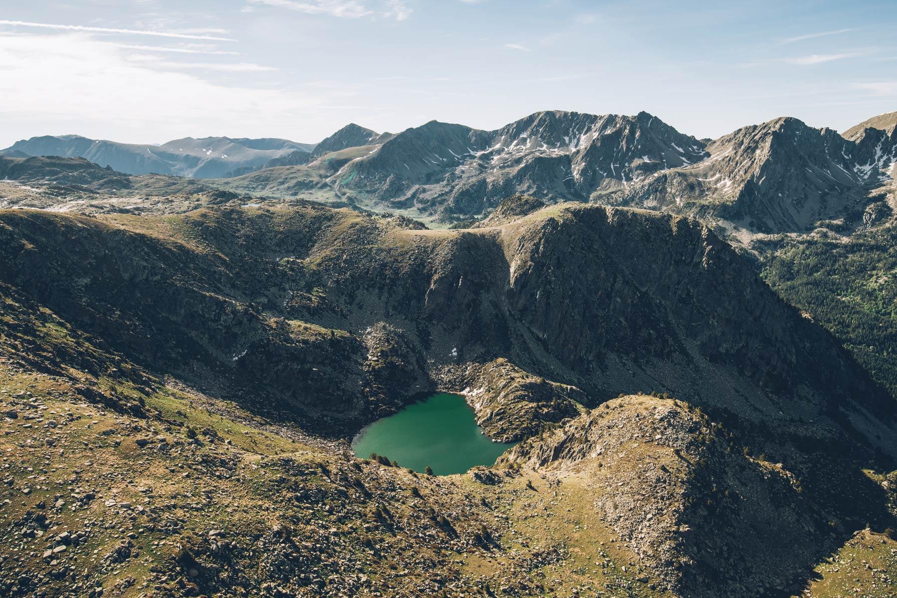 Andorre depuis le ciel