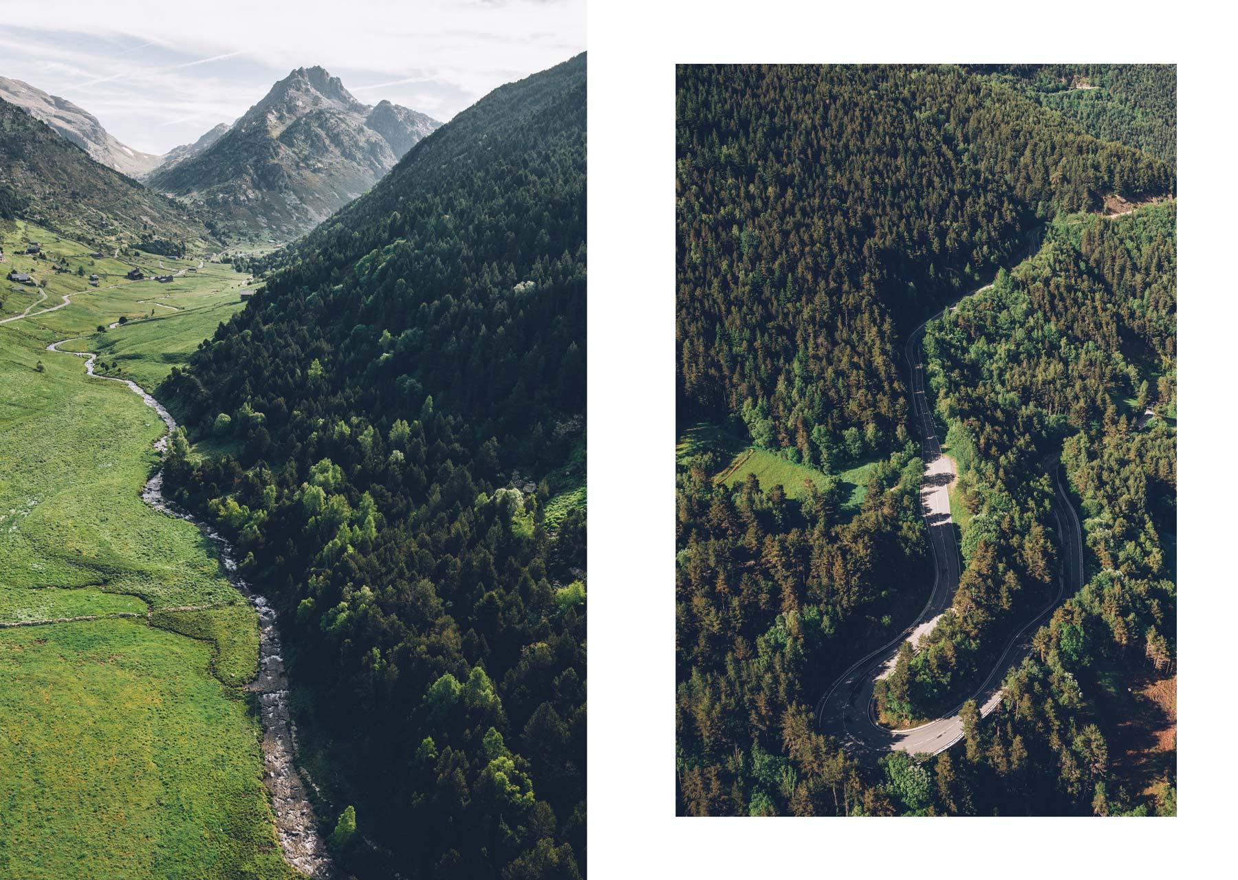 Andorre vol en hélicoptère