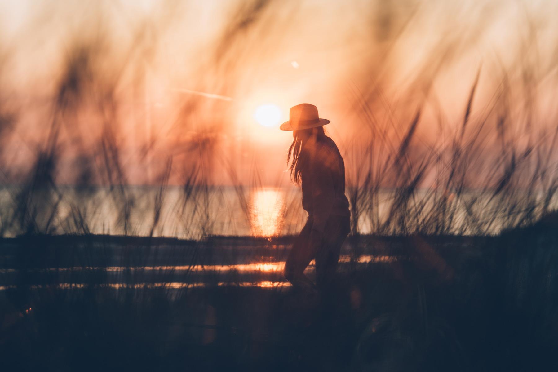 Coucher de soleil, Baie de Somme