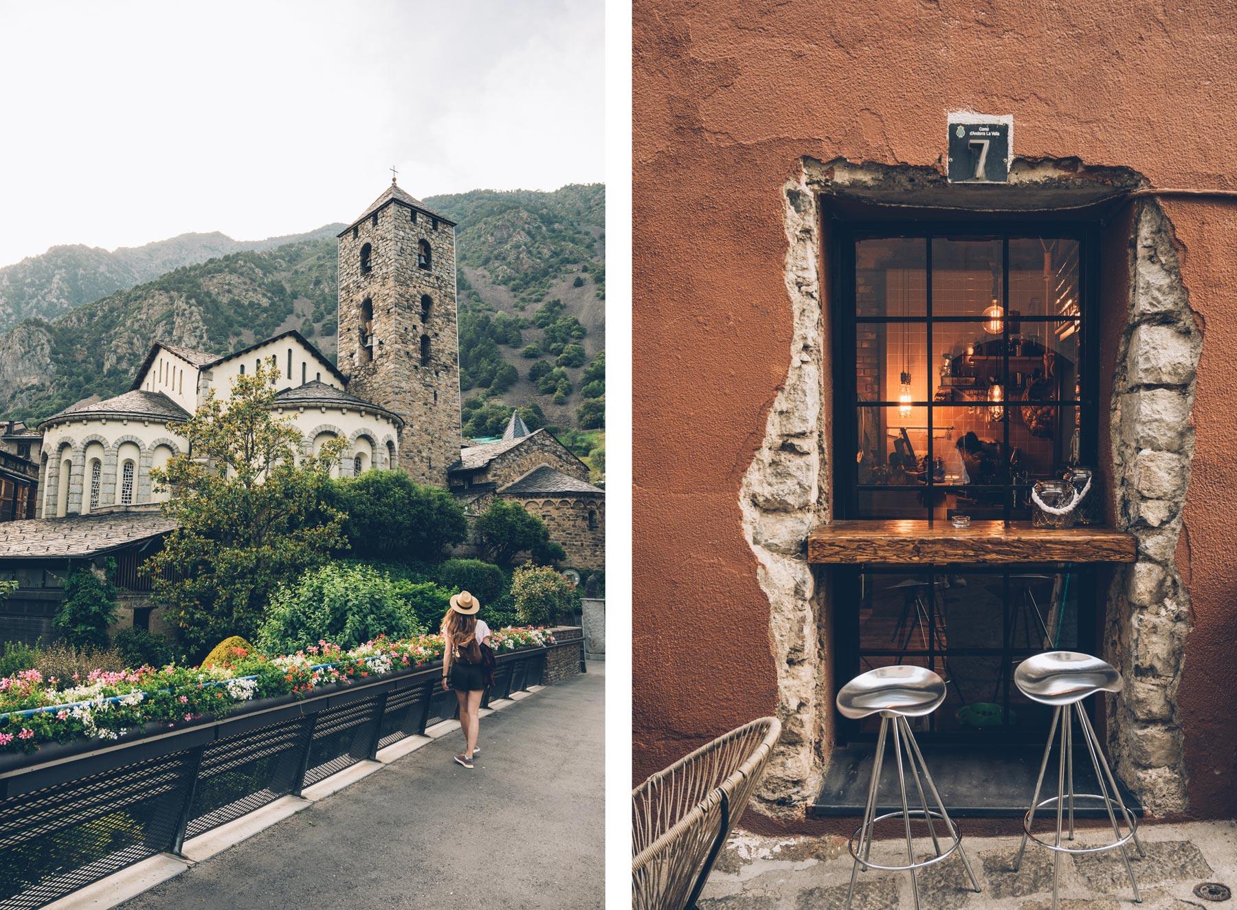 Andorre la Vieille, ville ancienne