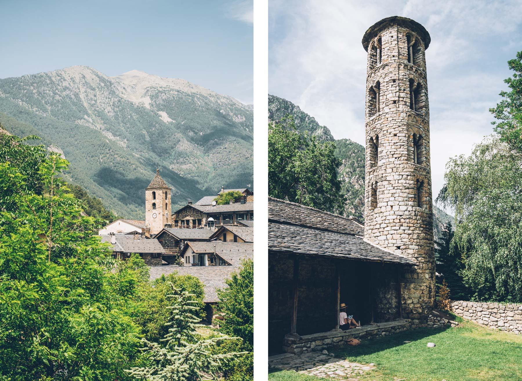 Art Roman, Andorre: Ordino et Santa Coloma