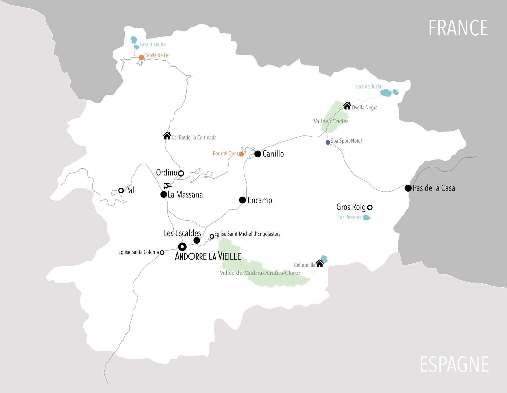 Carte Andorre Bestjobers