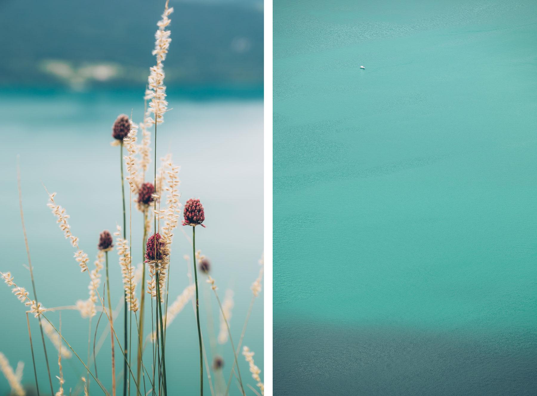 Aix les Bains, Riviera des Alpes, couleur Menthe à l'eau