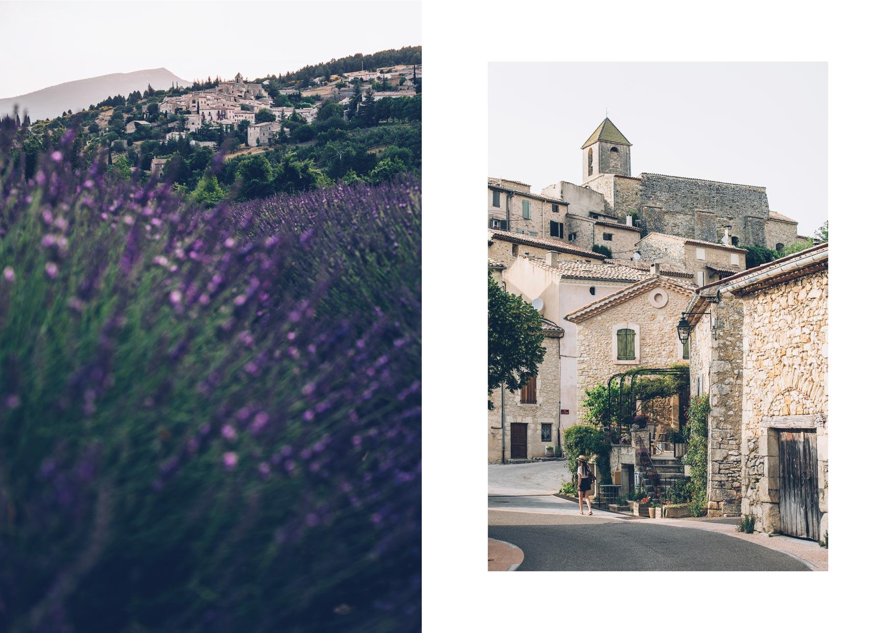 Aurel, village en Vaucluse