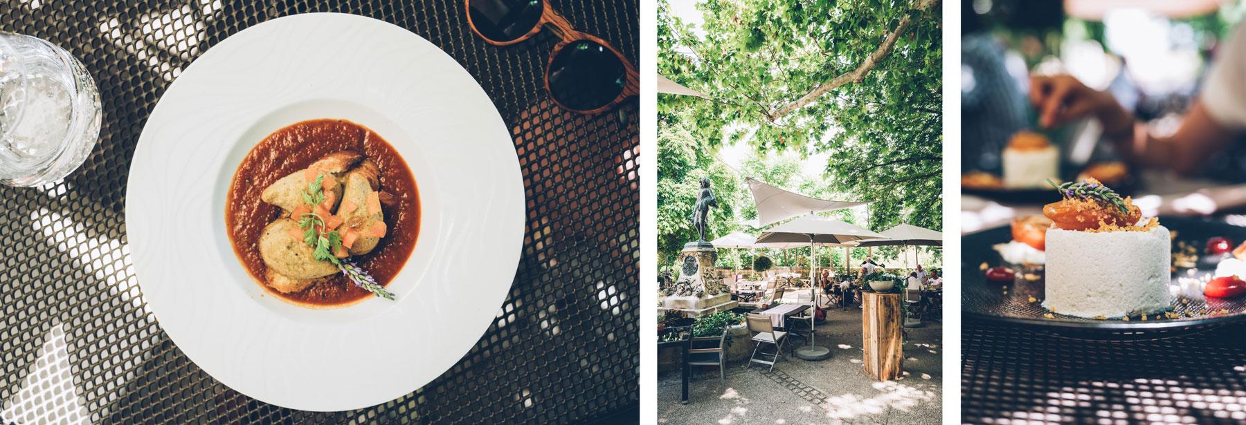 Bonne Adresse Sault: Restaurant les lavandes à Monieux