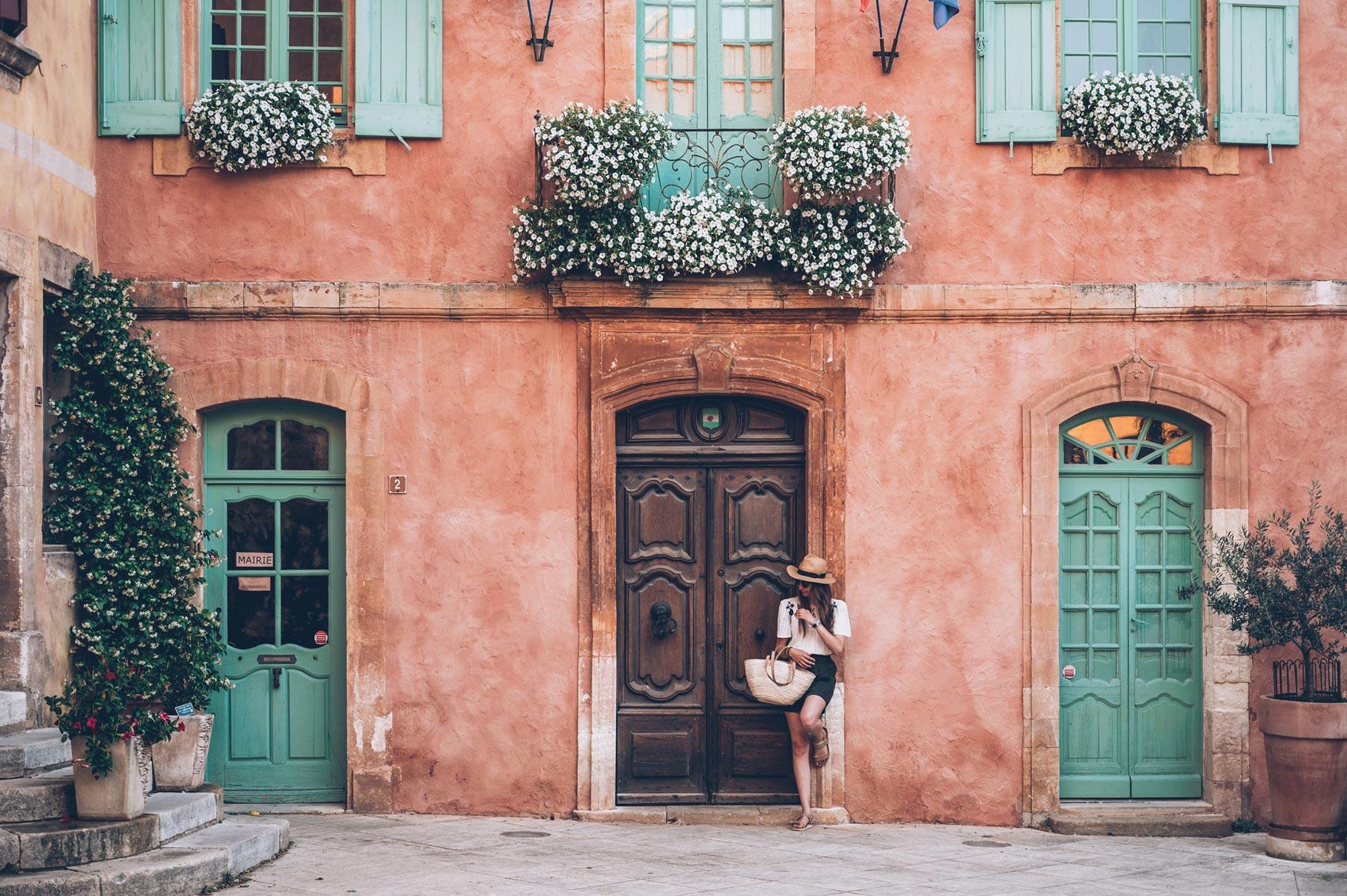Roussillon, Plus beau village de France