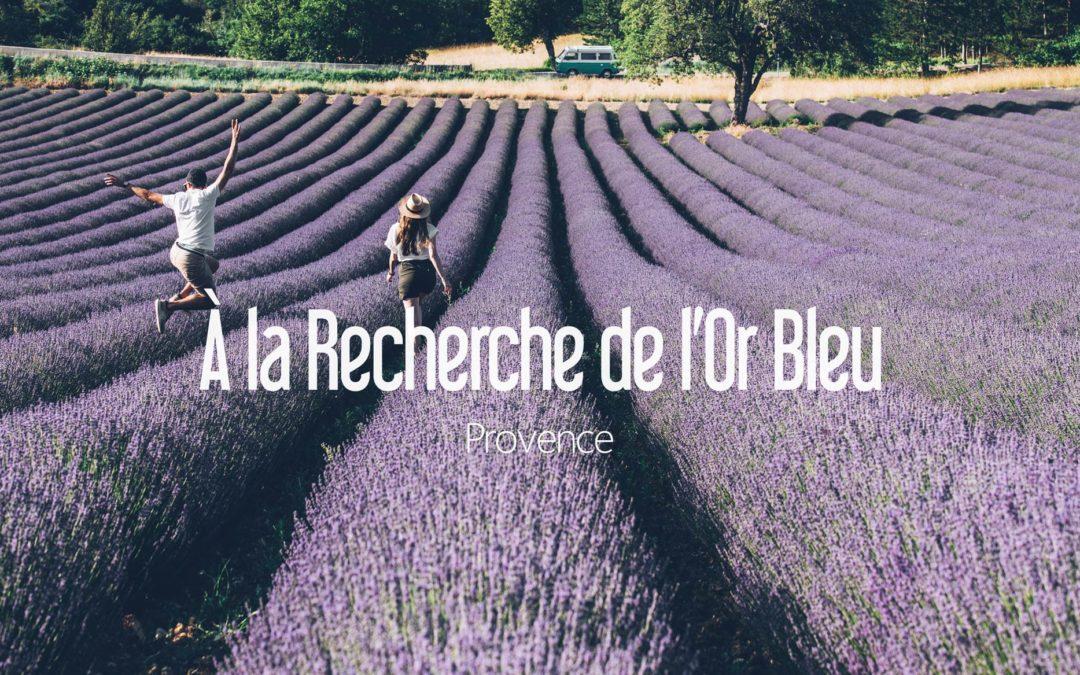 PROVENCE | À LA RECHERCHE DE L'OR BLEU !