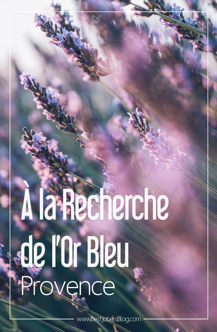 À la recherche de l'or bleu, Provence