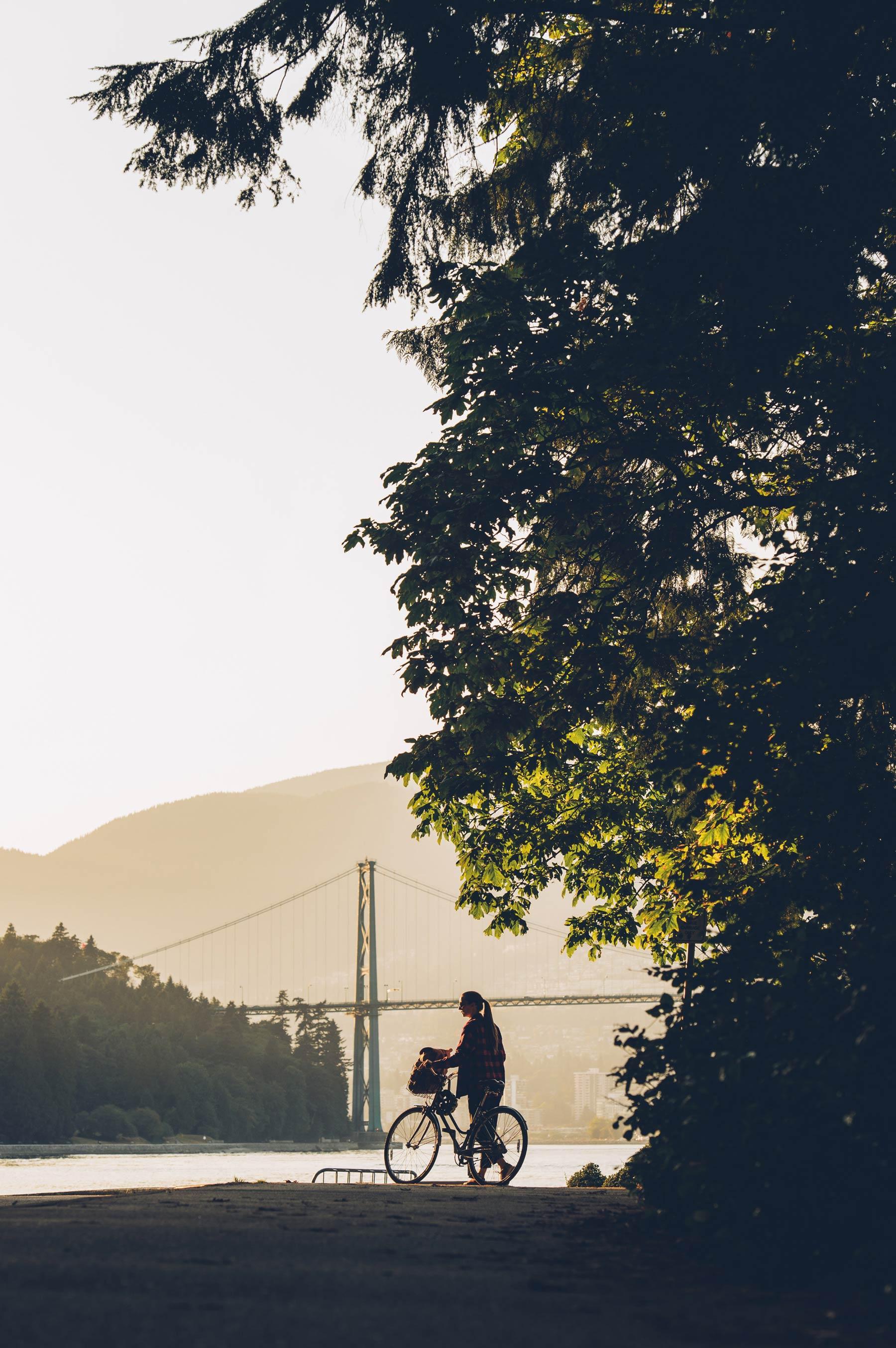 Stanley Park à vélo, nos conseils sur le bog