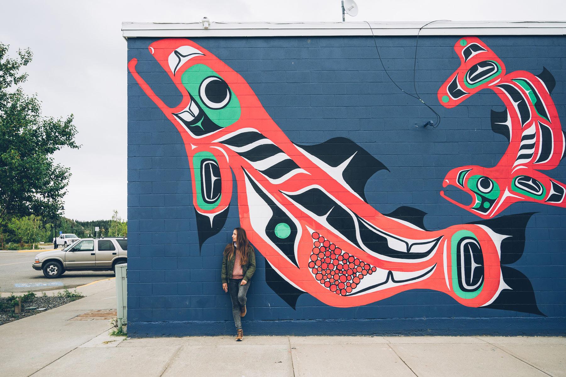Street Art, Whitehorse, Yukon
