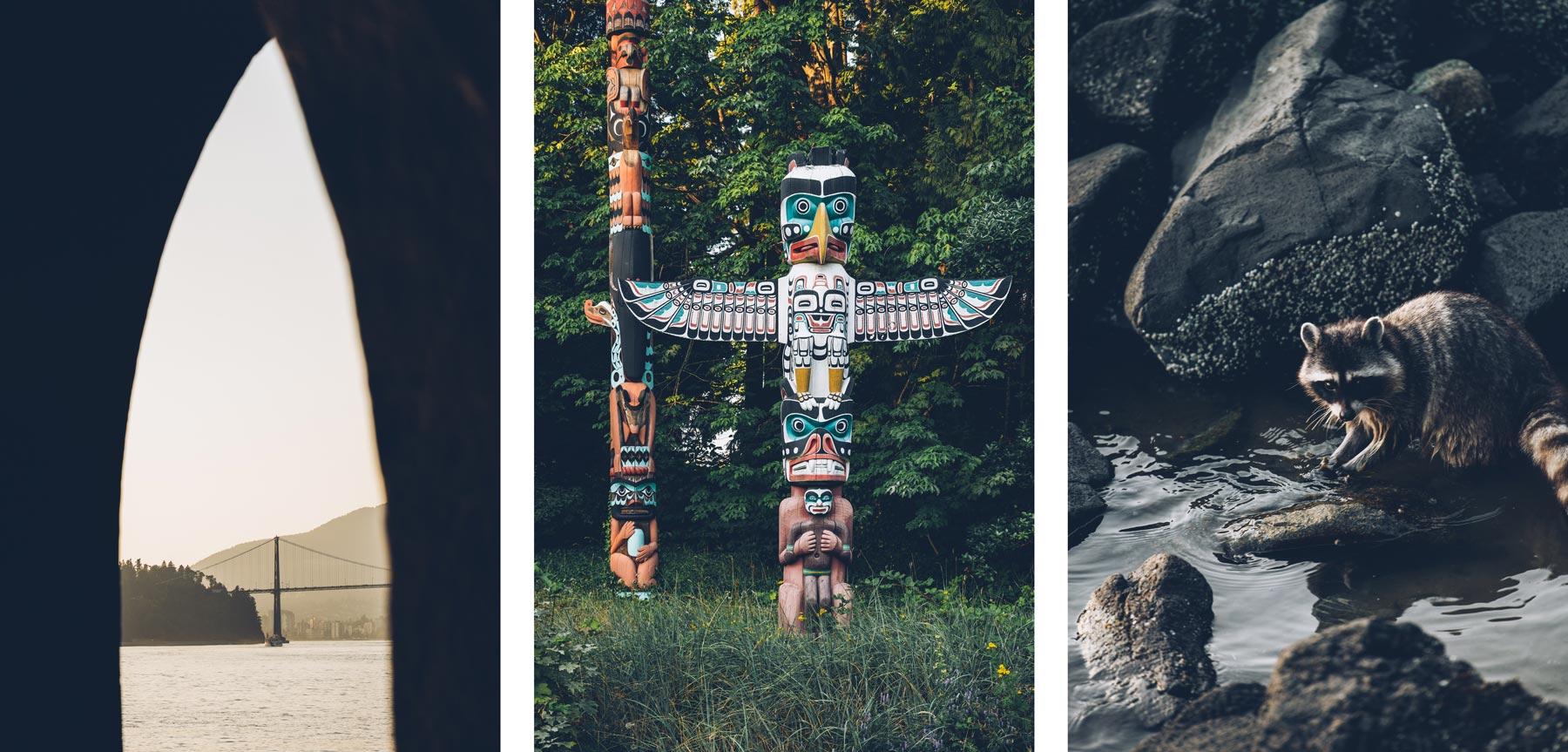 Ratons Laveurs et Totems, Vancouver