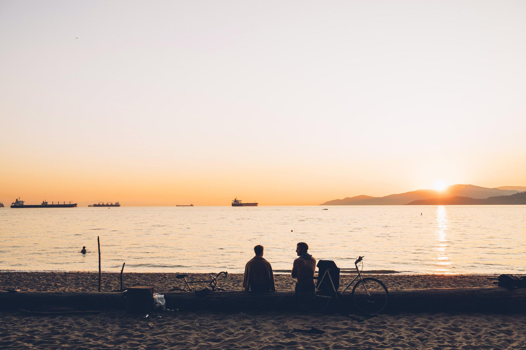 Coucher de soleil, Vancouver