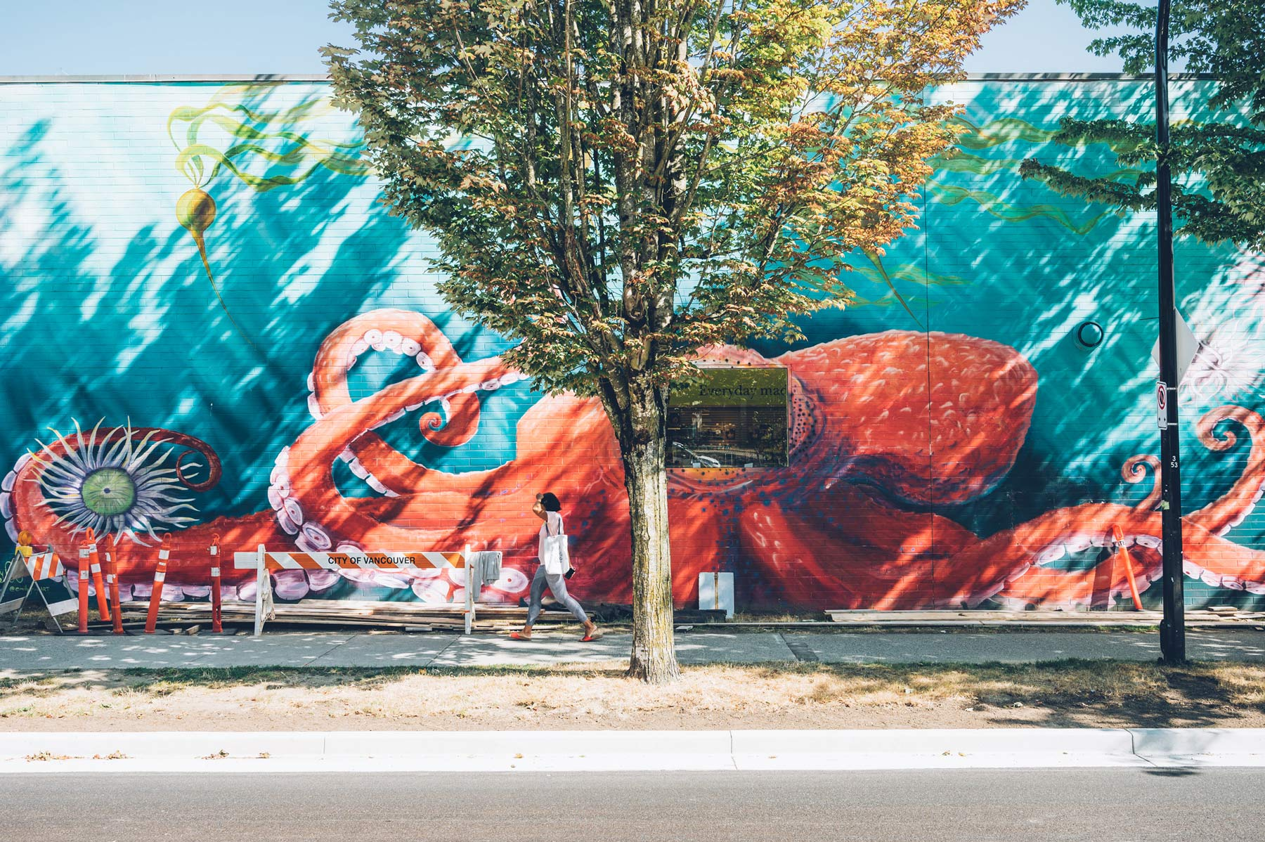 Street Art Vancouver, Blog Voyage