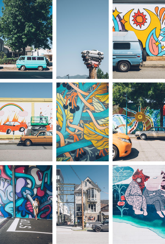 Street art et Mural Festival Vancouver