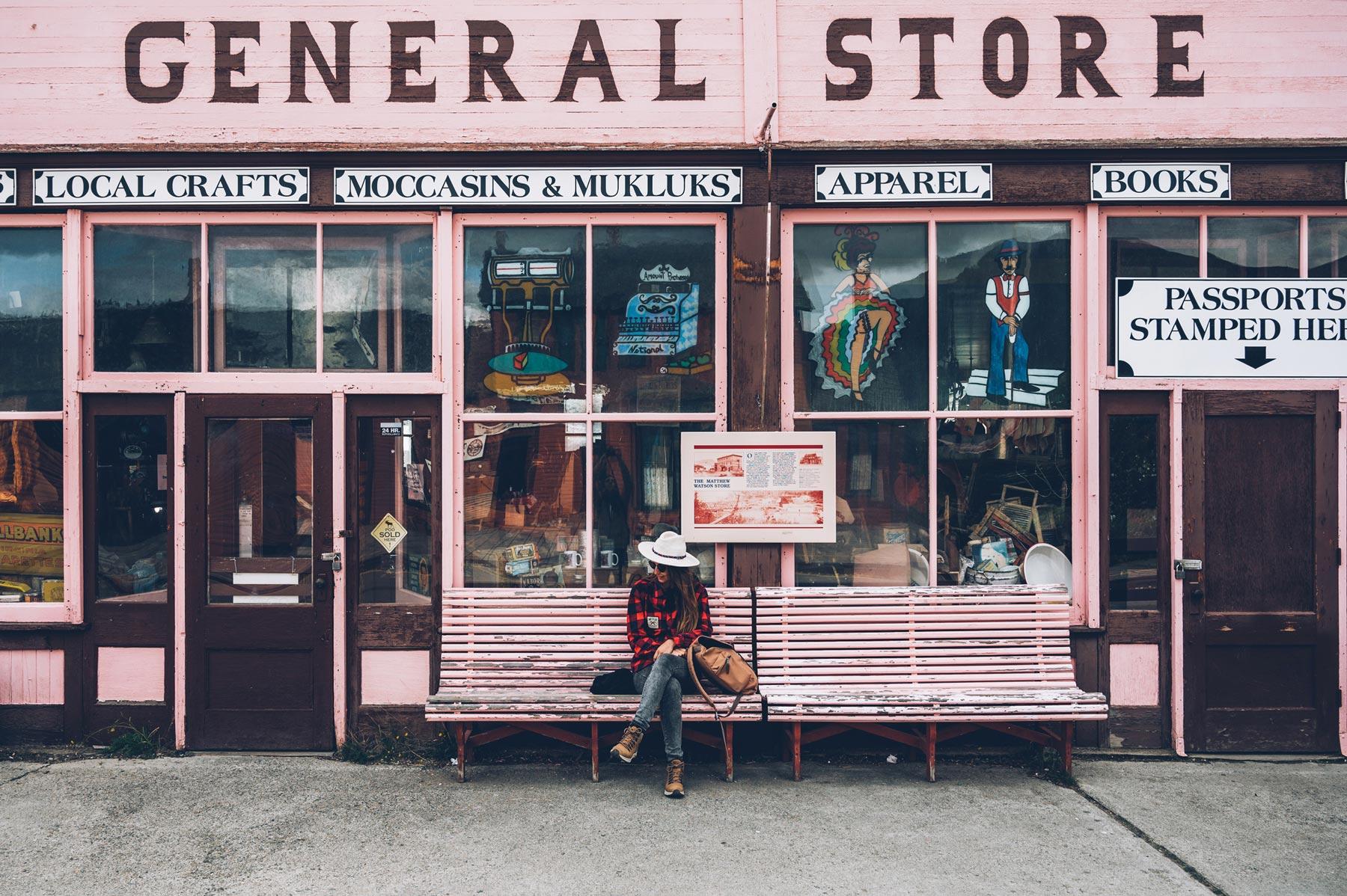 Carcross, General Store, Yukon
