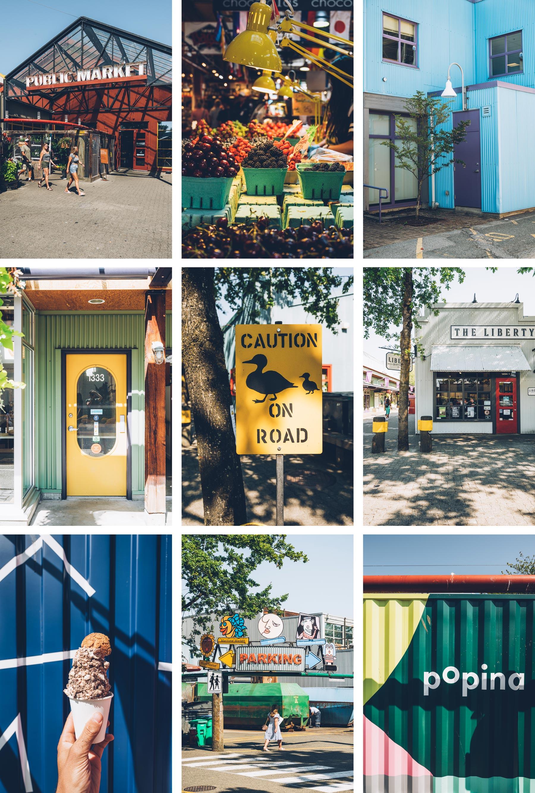 Granville Island Vancouver, Blog Voyage