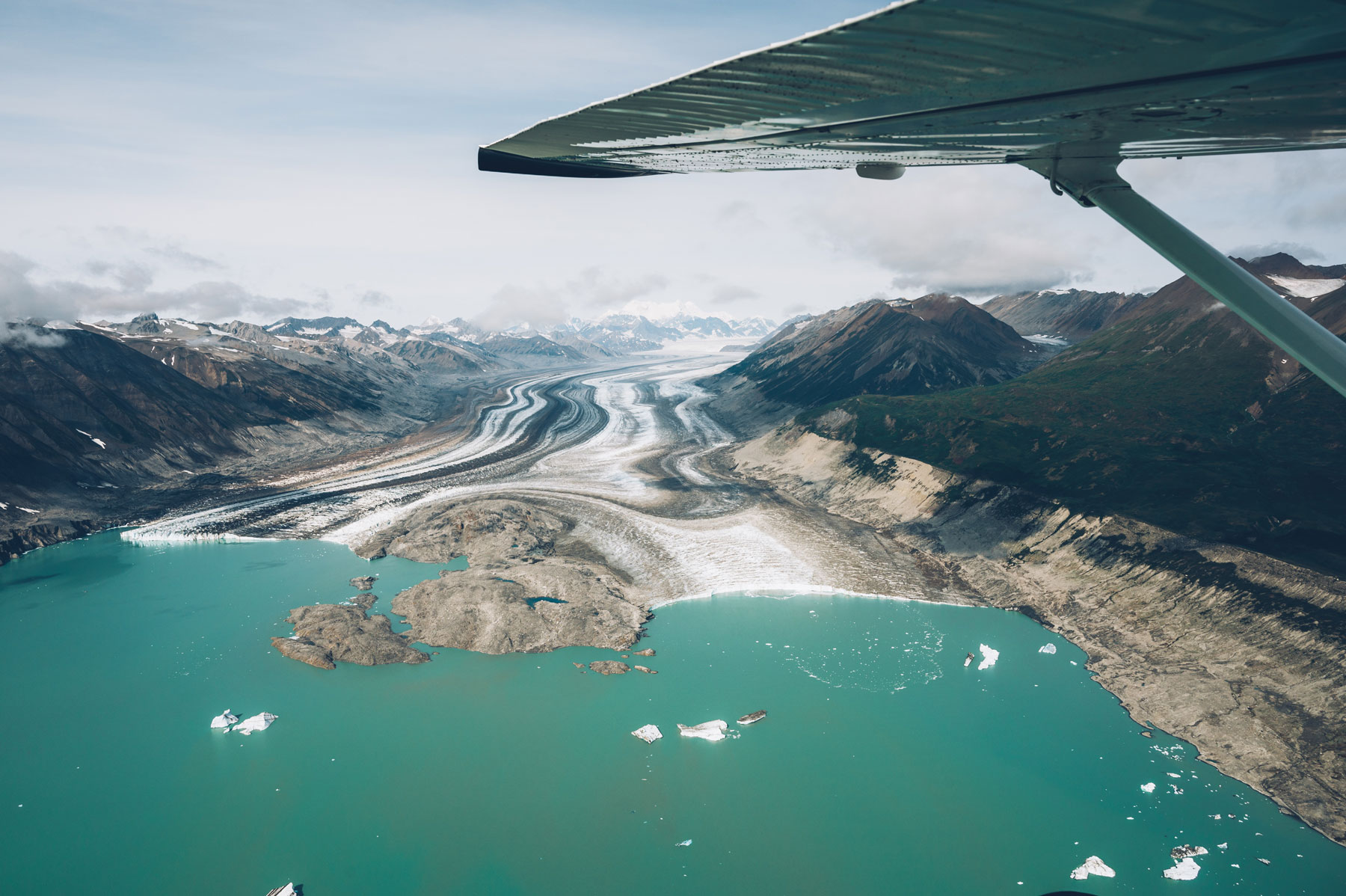 Vol panoramique Kluane, Yukon