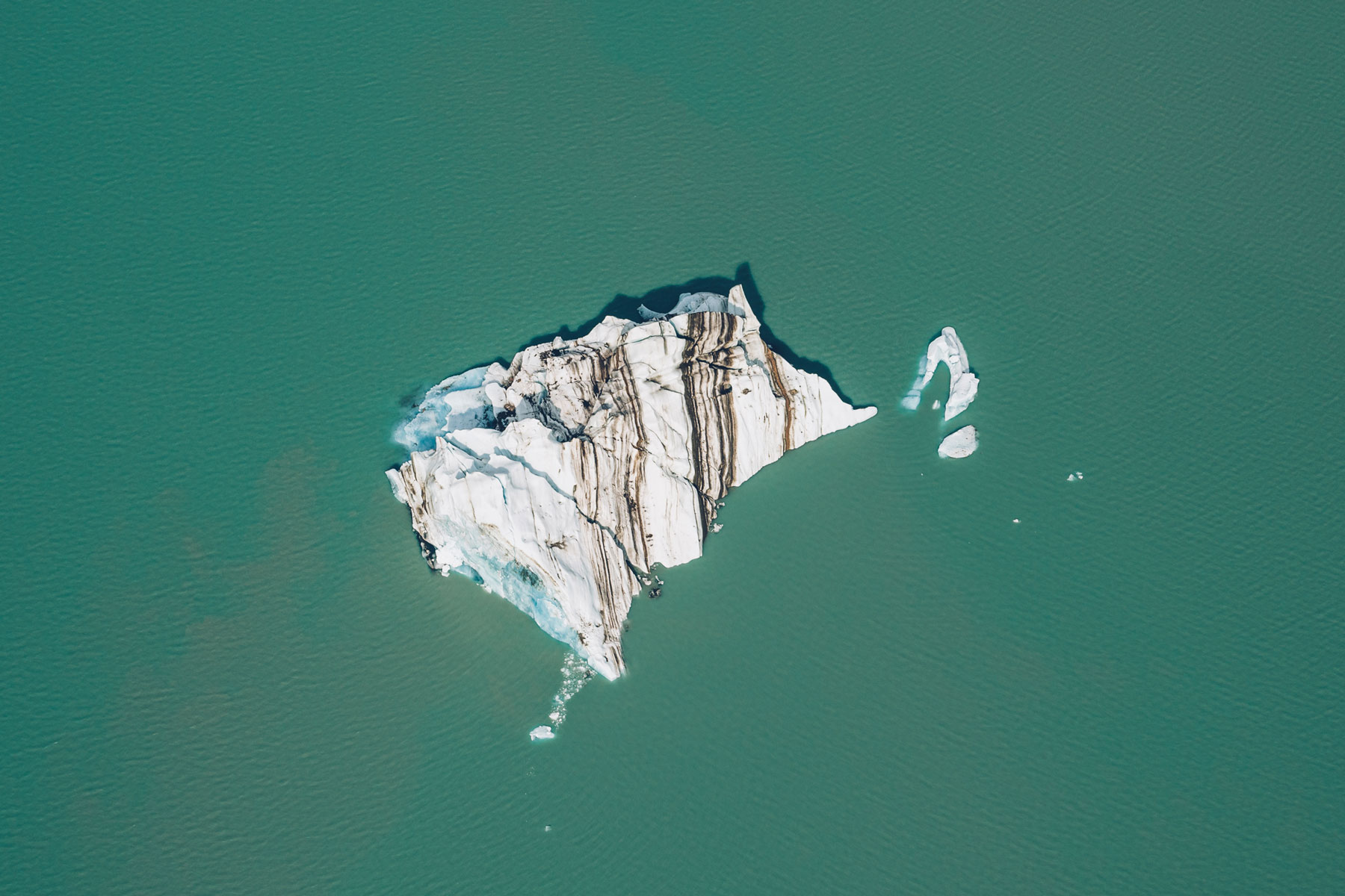 Vol au dessus des glaciers, Yukon