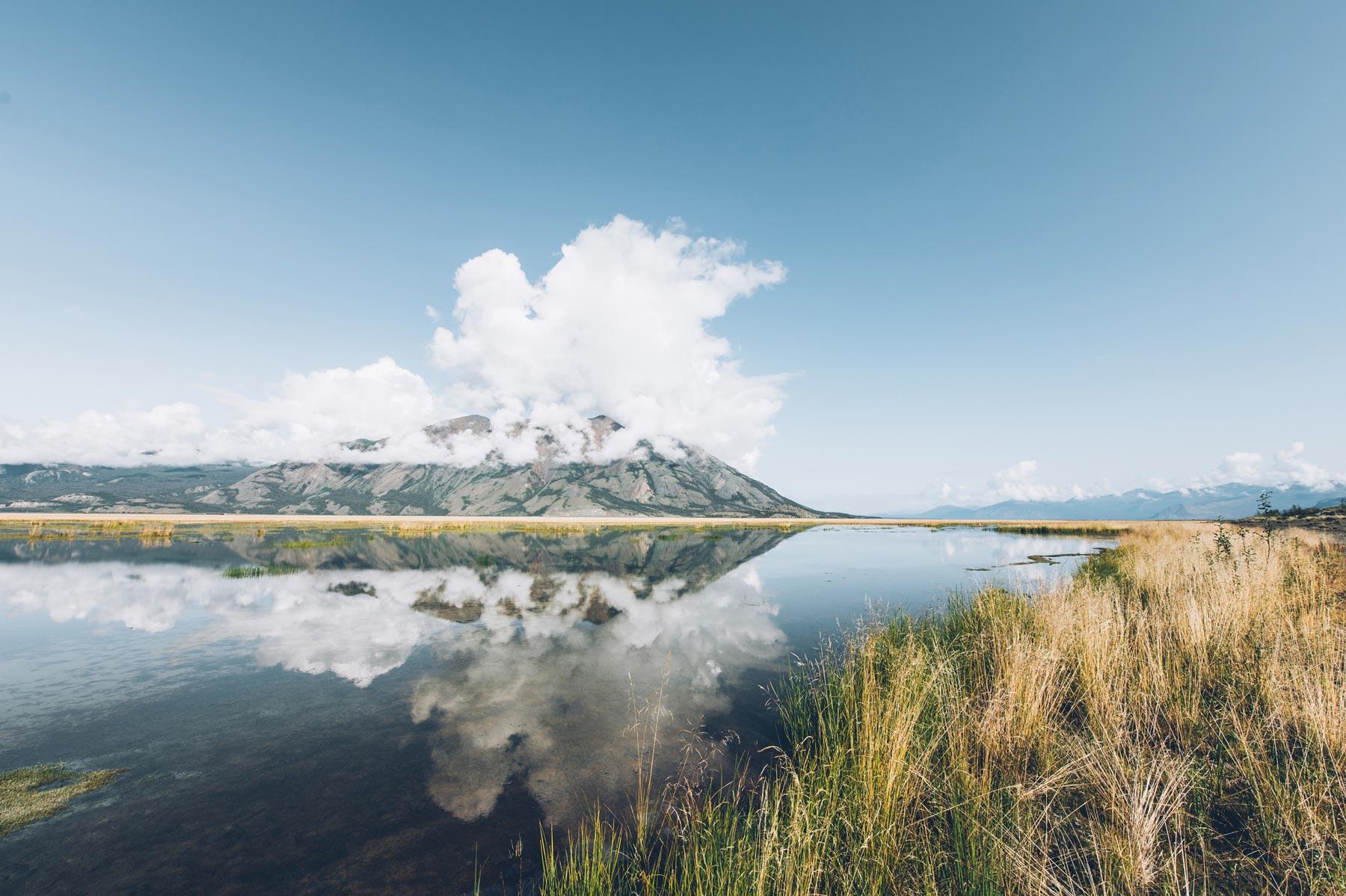 Lac Kluane, Yukon