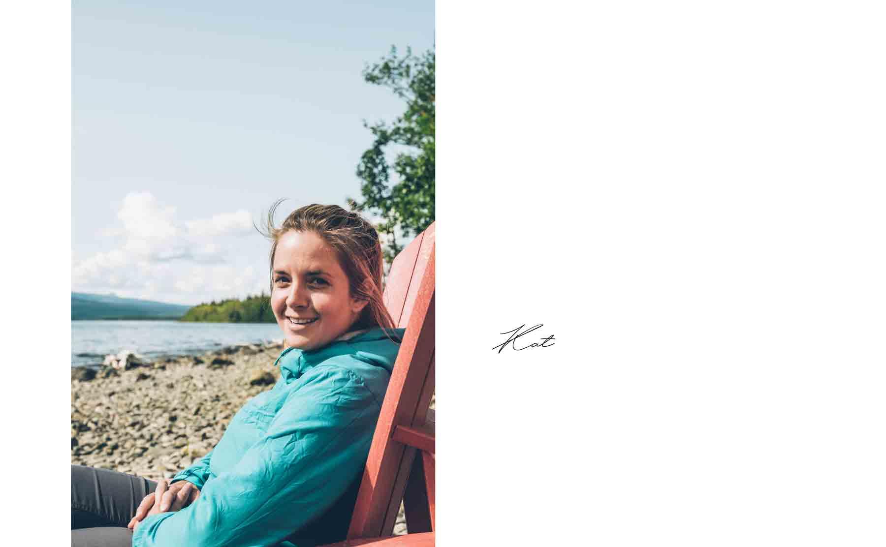 Kat, Guide au Yukon