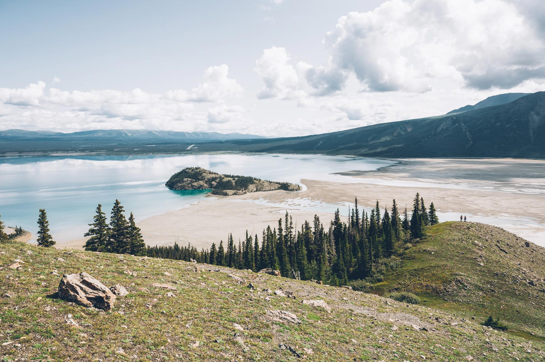 Lac Kluane, Canada