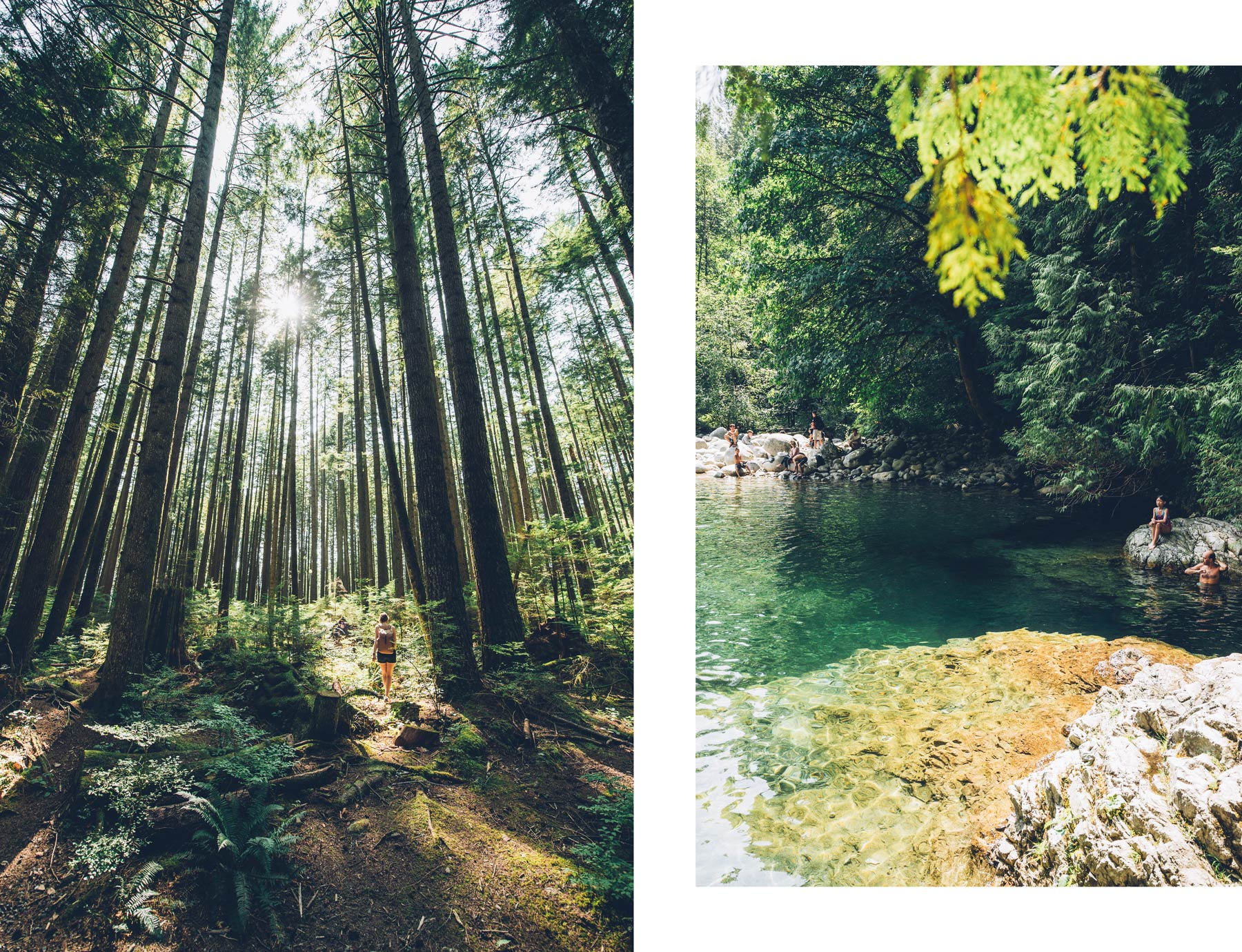 Lynn Canyon, 30 foot Pool