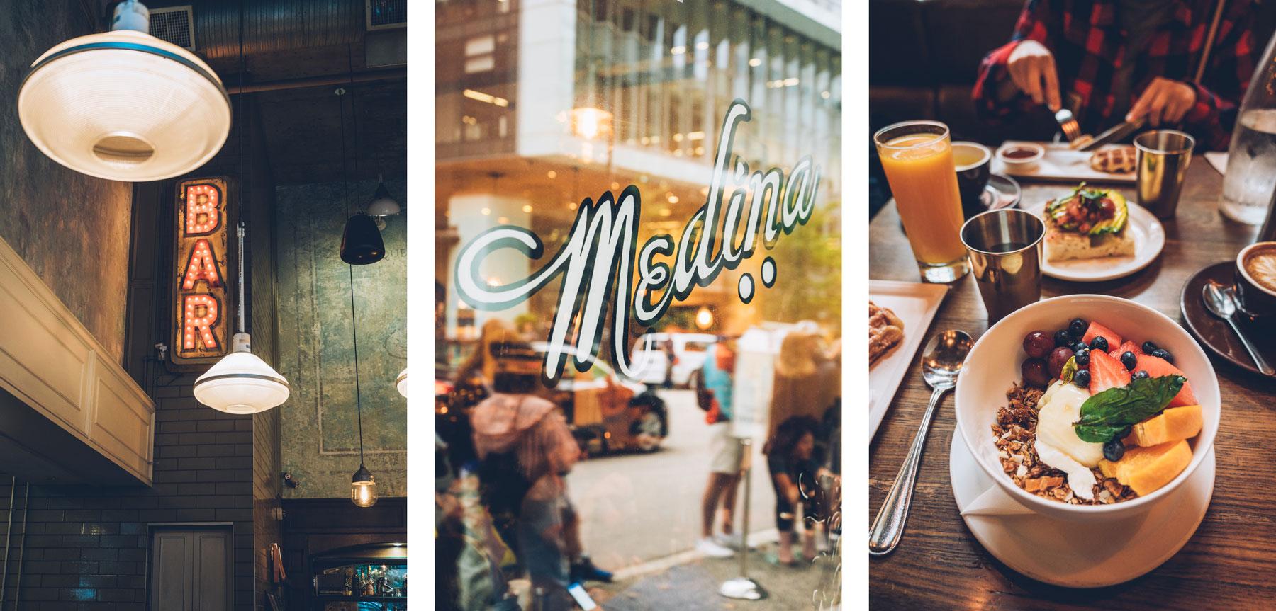 Ou manger à Vancouver? Medina