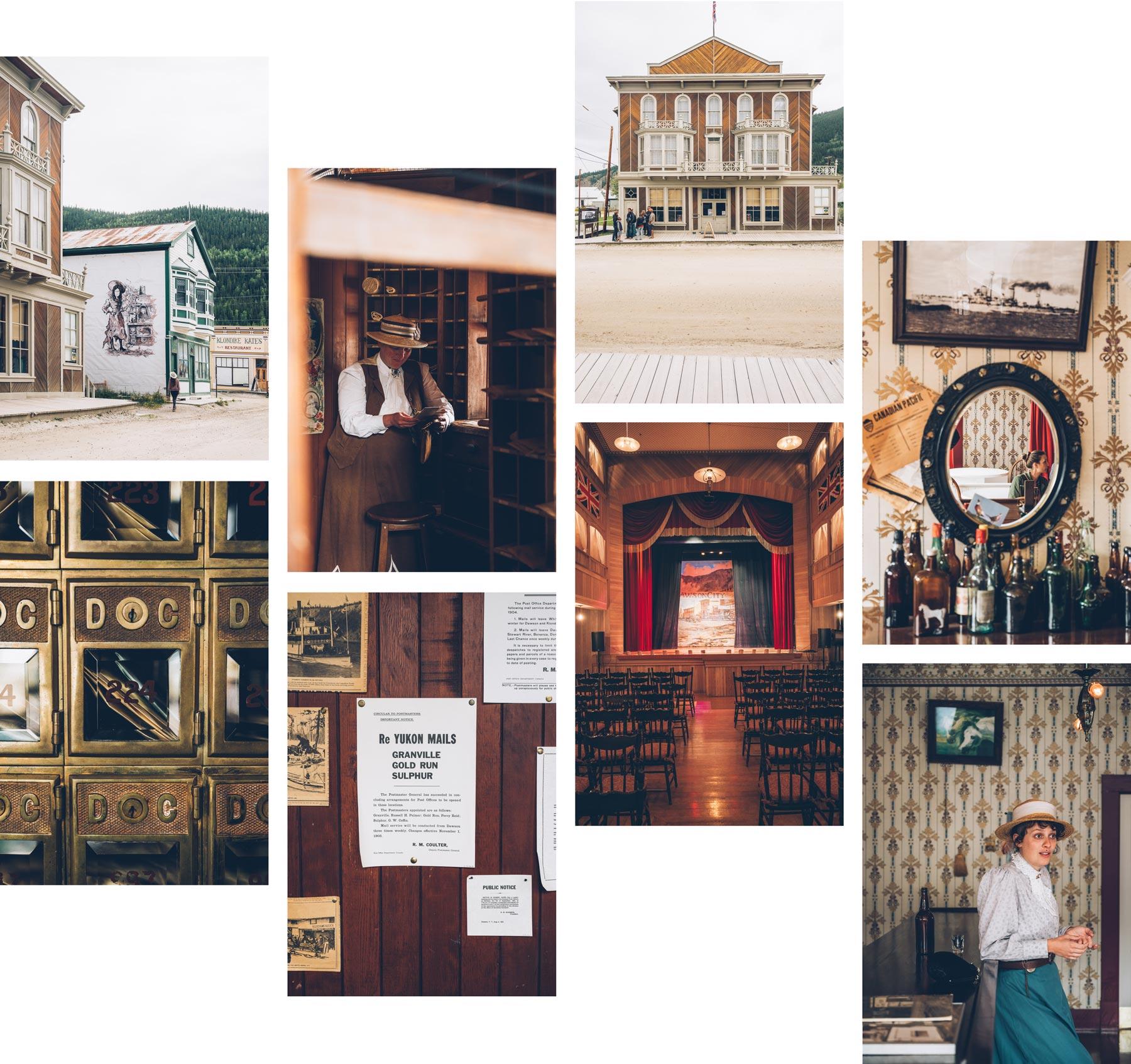Visite Dawson City en français