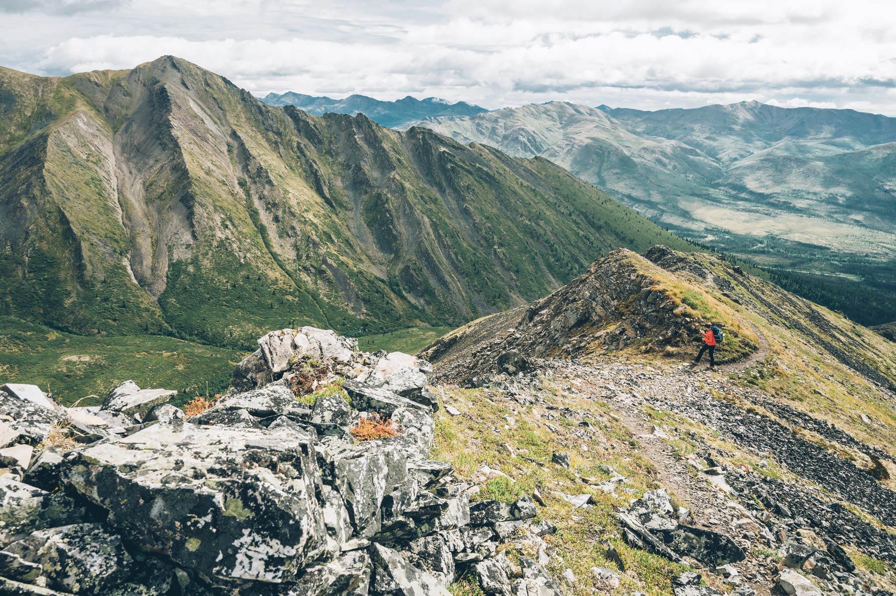 Randonnée Yukon, Grizzly Lake Trail