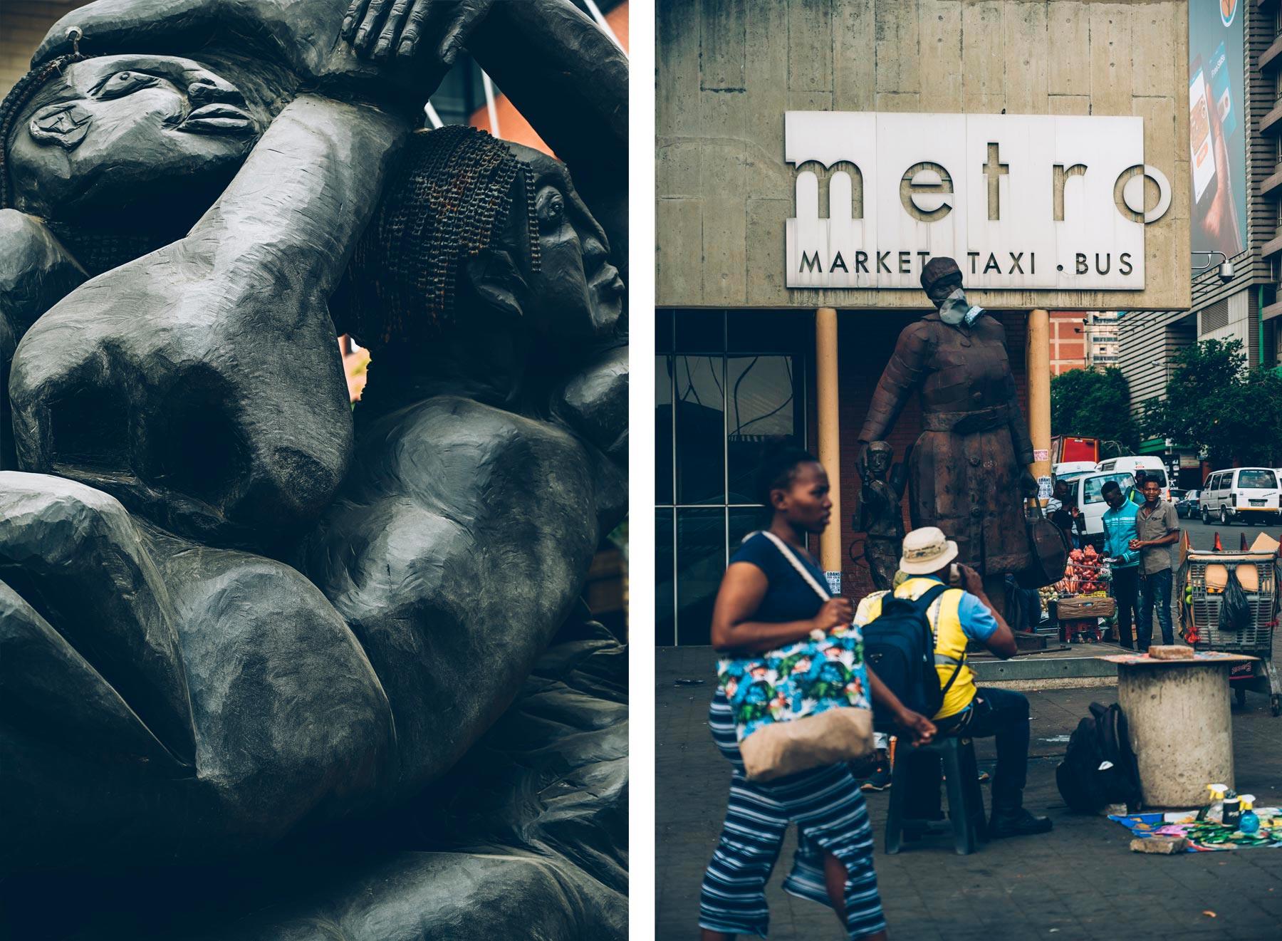 Rues de Johannesburg